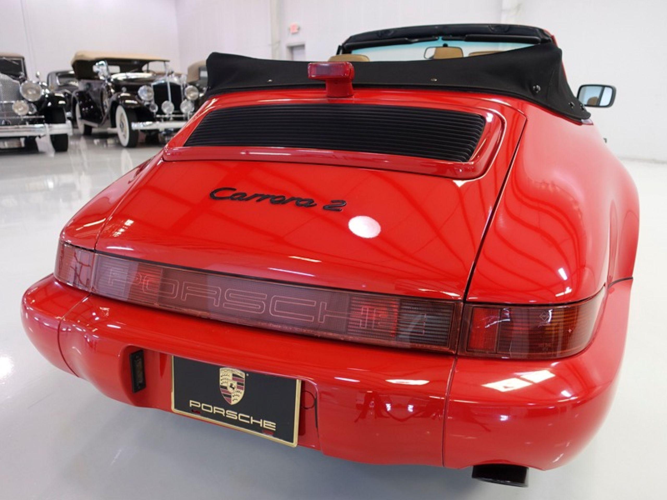 1990 Porsche 911 Carrera 2 Cabriolet