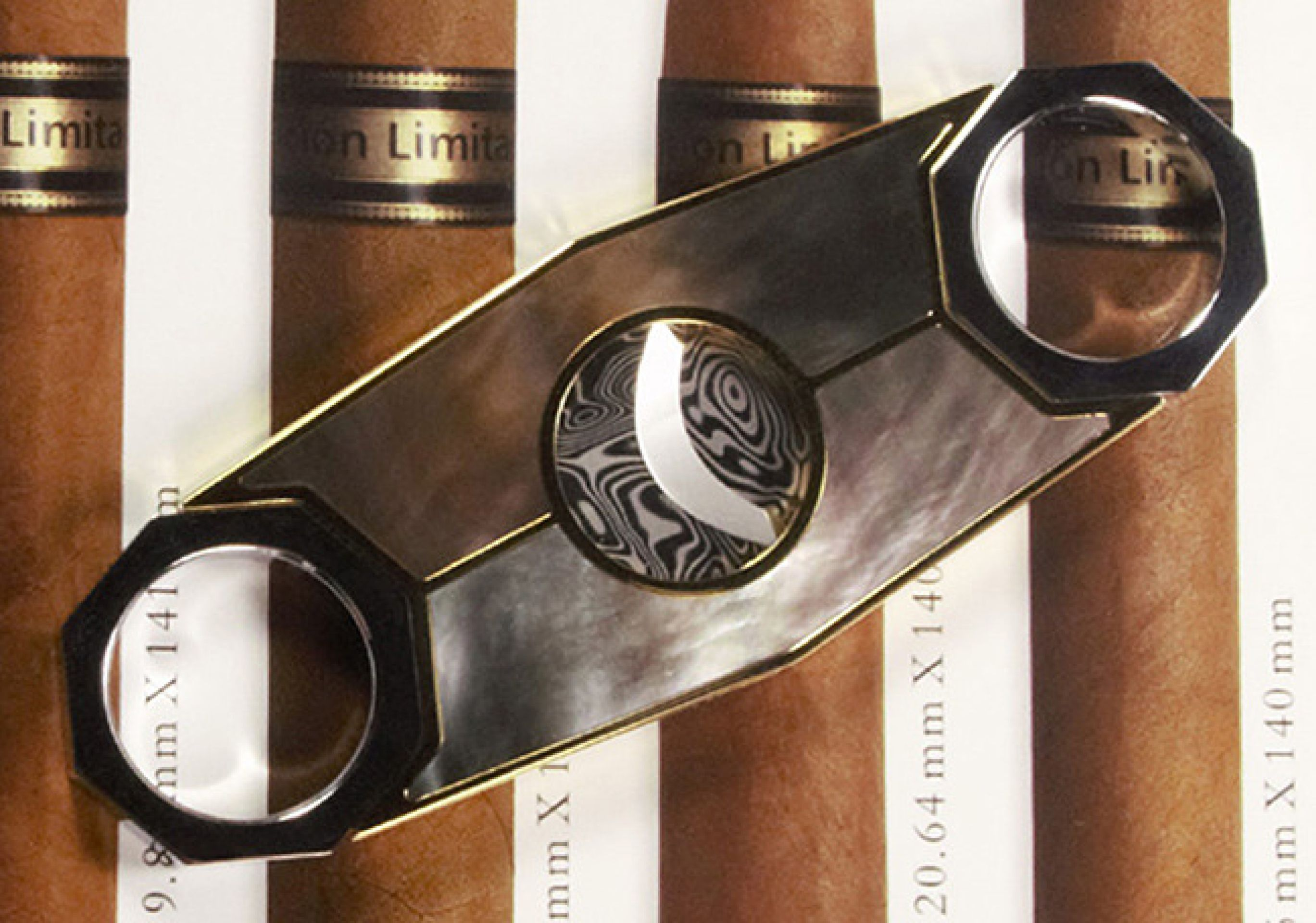 Custom Cigar Cutter - OCTA, Handcrafted Luxury Accessory by Conocedor Finland