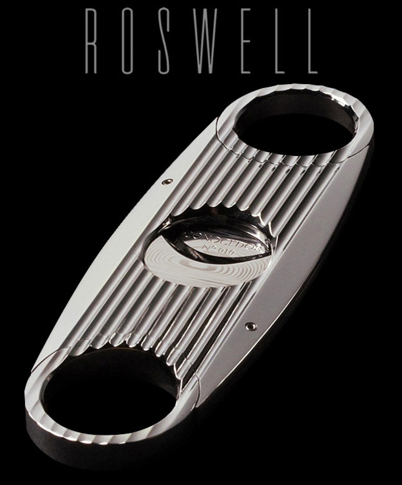 Custom Cigar Cutter - Roswell by Conocedor Luxury Cigar Accessories