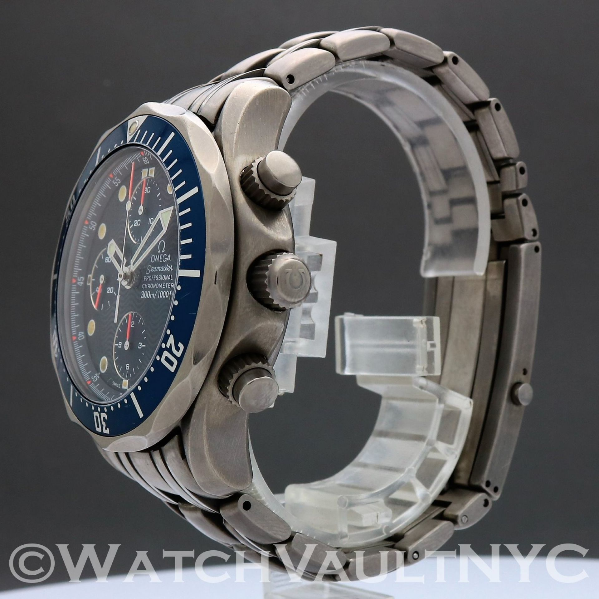 Omega Seamaster Professional 300M Chrono Titanium 2298.80 James Bond 42mm  SC202