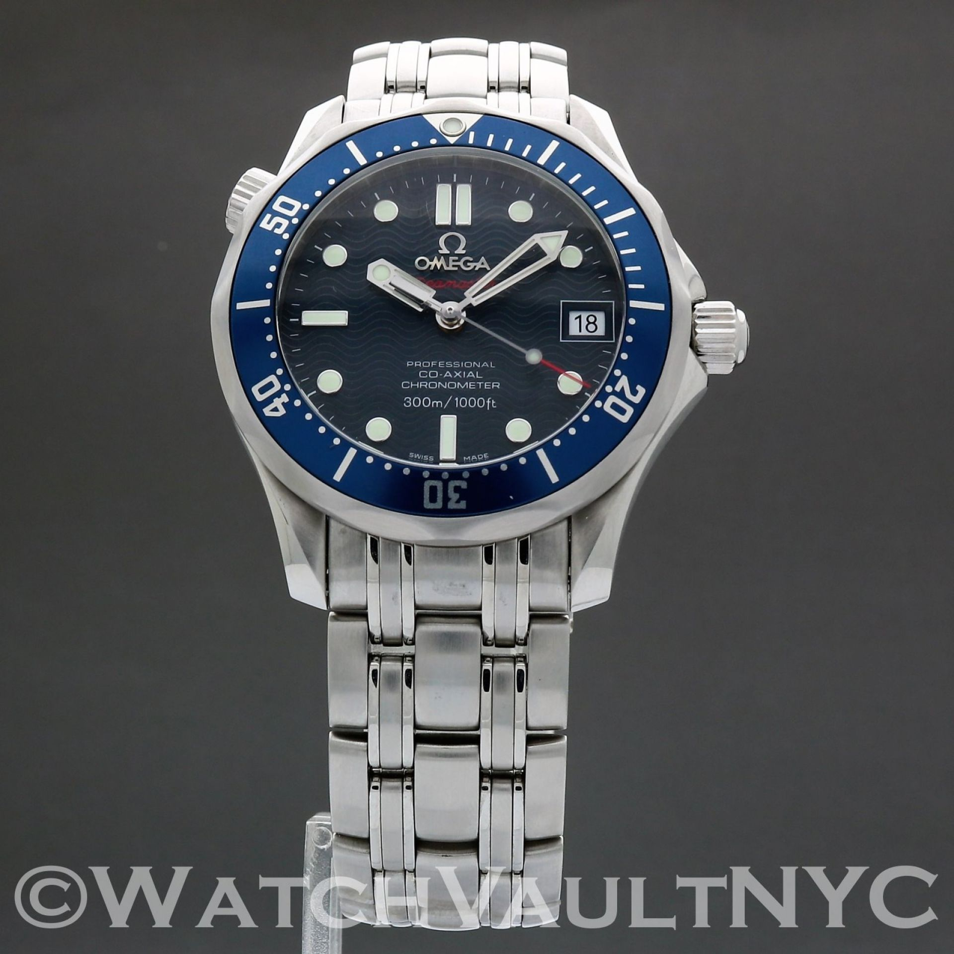 Omega Seamaster Professional 300M 2222.80 James Bond 36mm Auto SC503