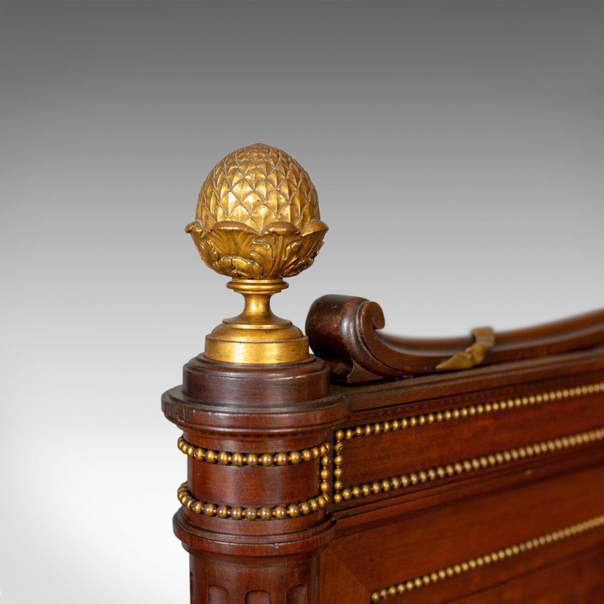 Antique Bed Frame, French, Bedstead, Louis XVI Taste, Constantin Potheau c.1910