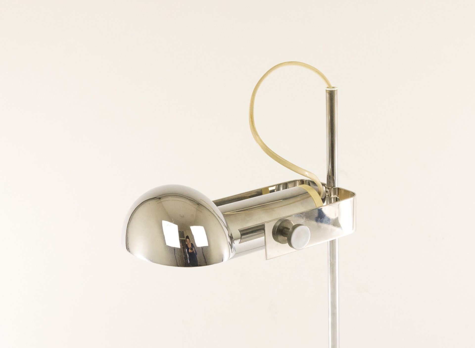 Adjustable T395 table lamp by Robert Sonneman for Luci Cinisello, 1970s