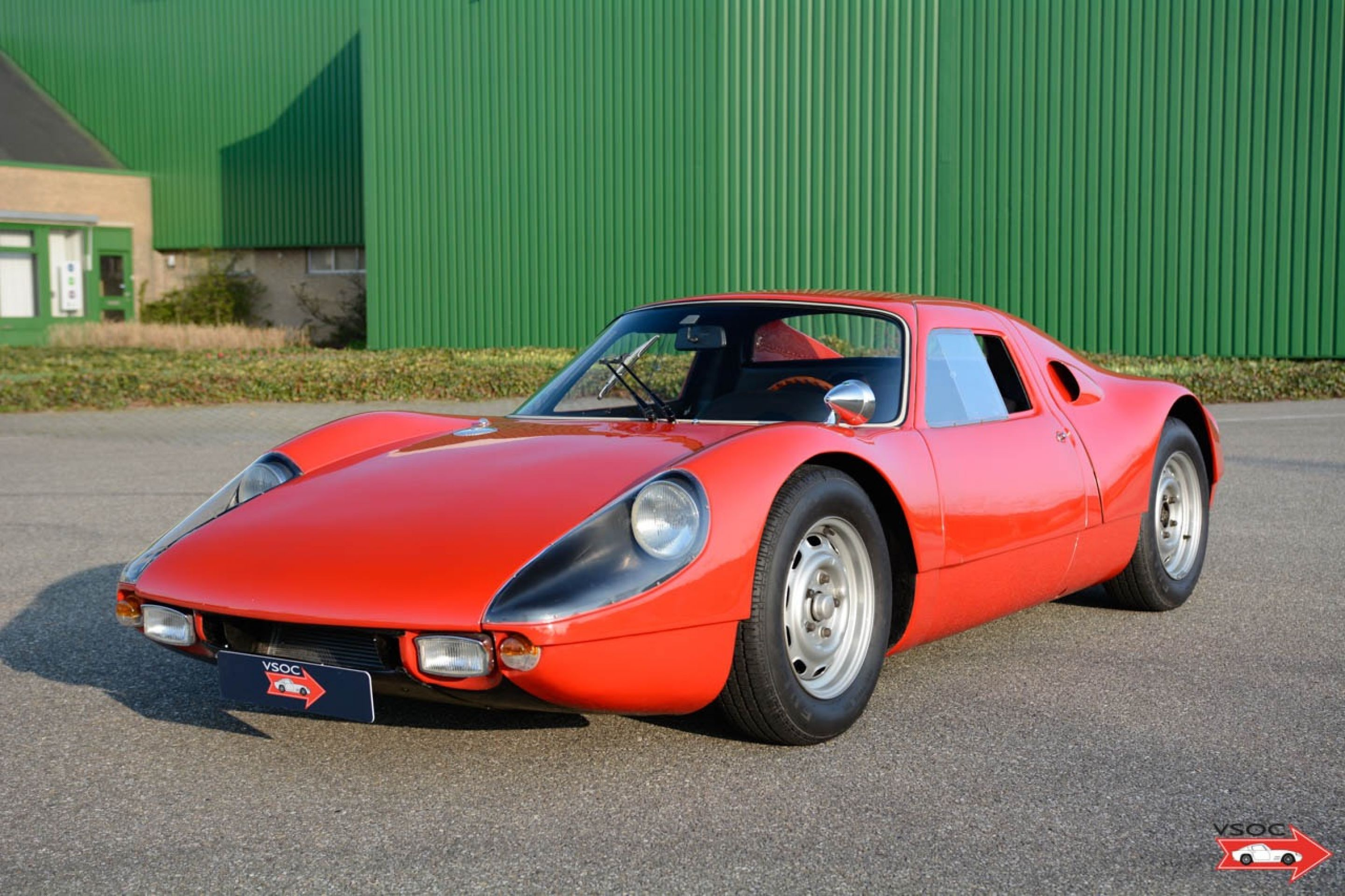 Porsche 904 GTS - Continuous history and raced in period