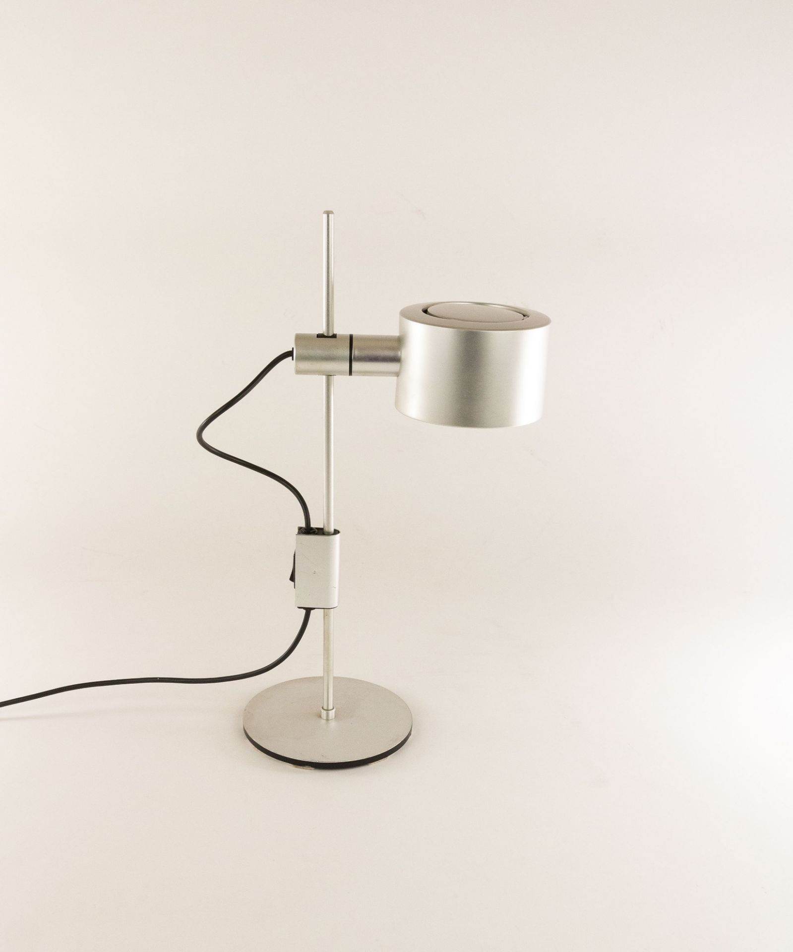 Aluminium table lamp by Ronald Homes for Conelight Limited, 1960s