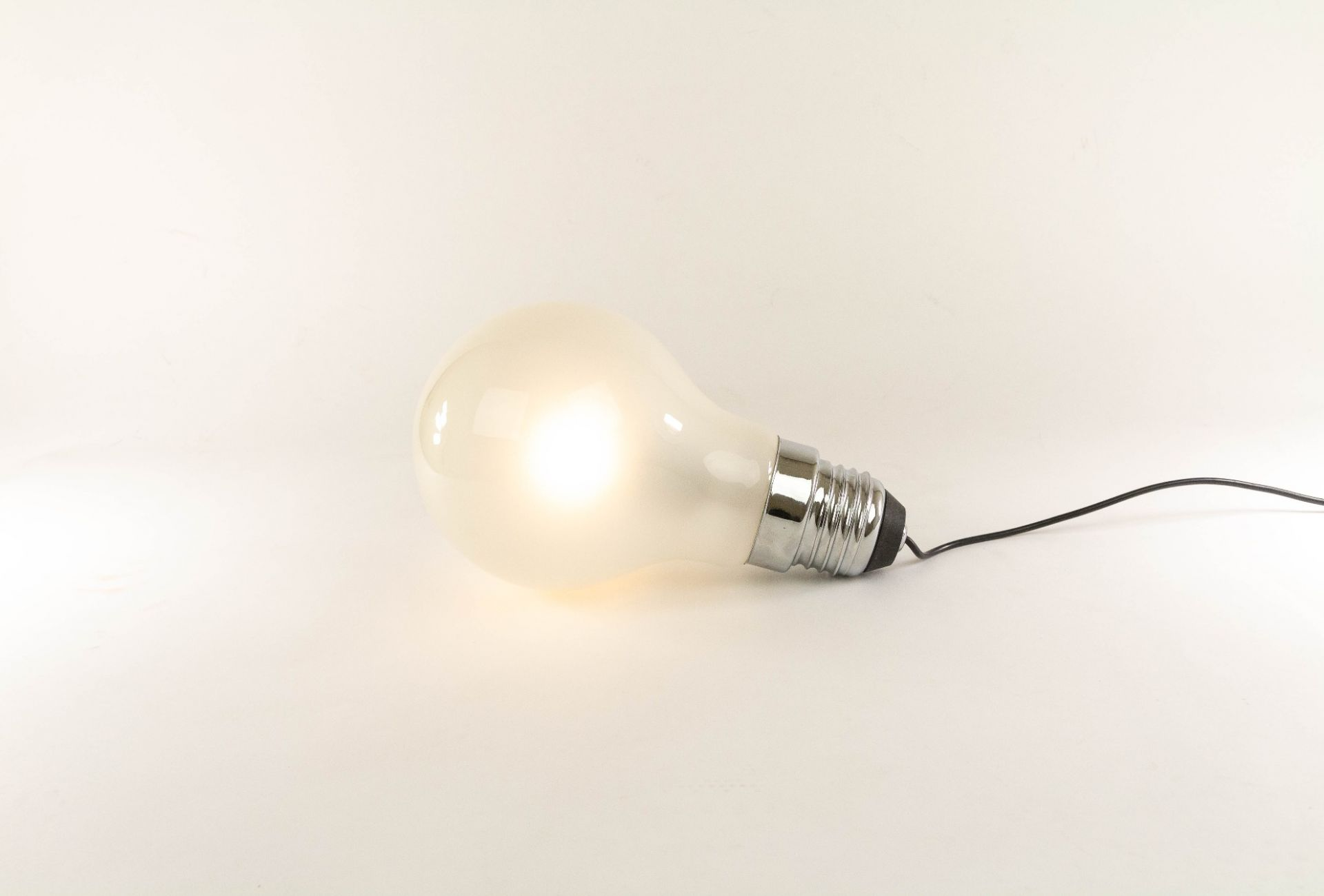 Thomas Alva Edison table lamp or pendant by Ingo Maurer for Design M, 1979