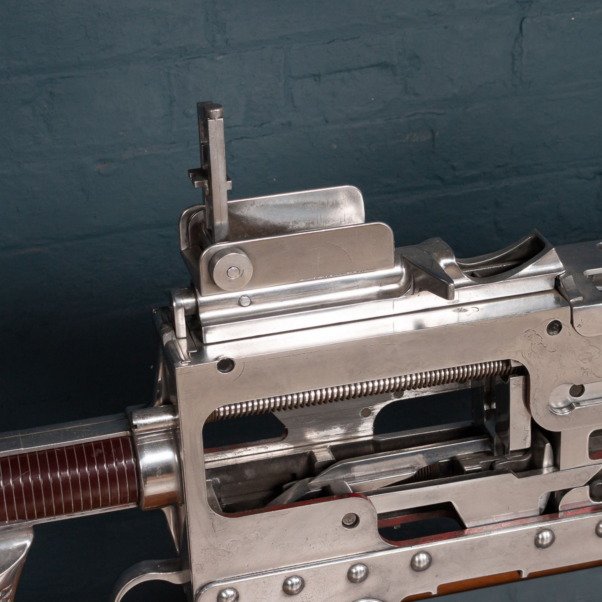 MID 20th CENTURY MASSIVE BROWNING TRAINING GUN, USA