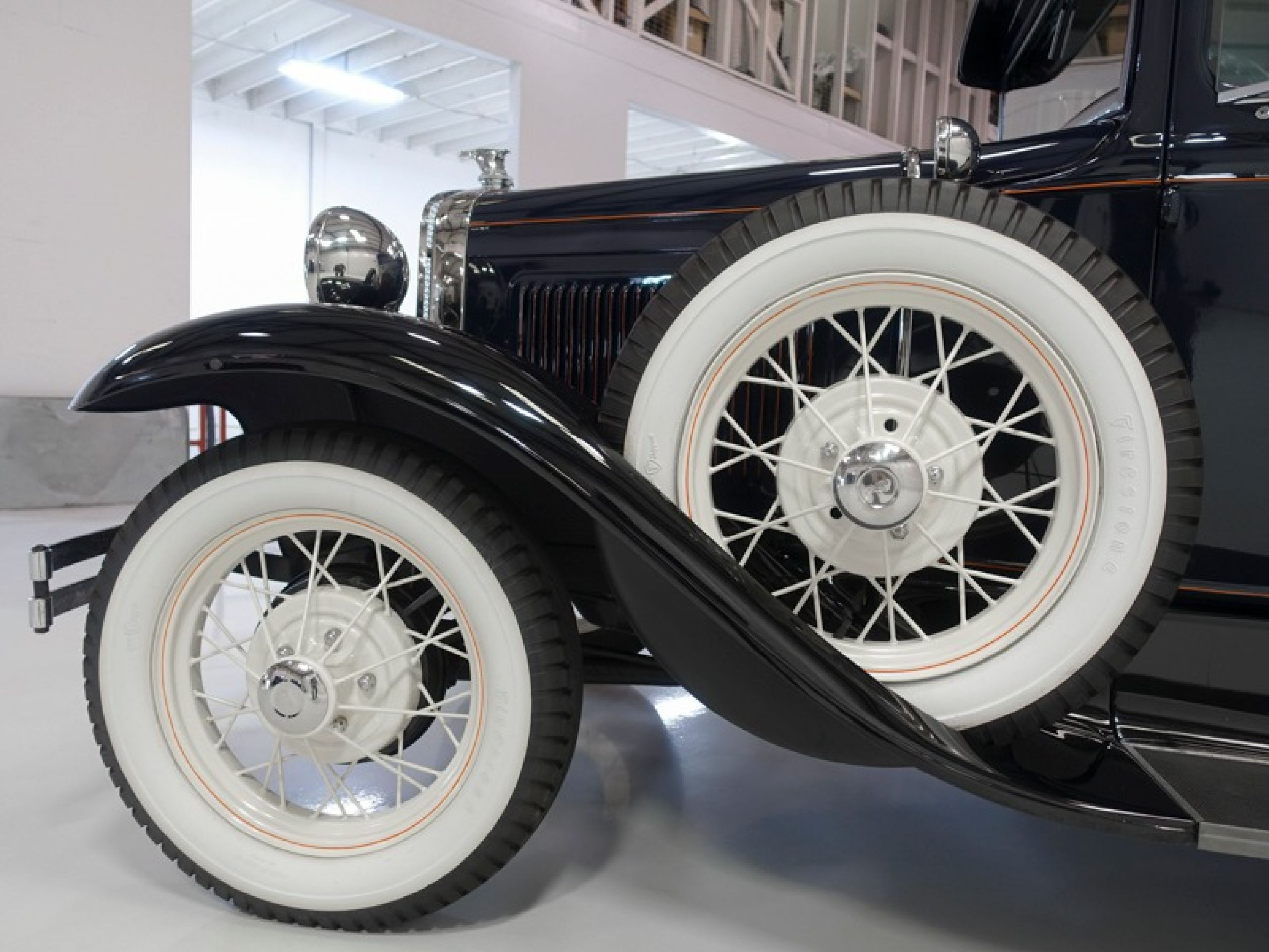 1930 Ford Model A Deluxe Rumble Seat Coupe