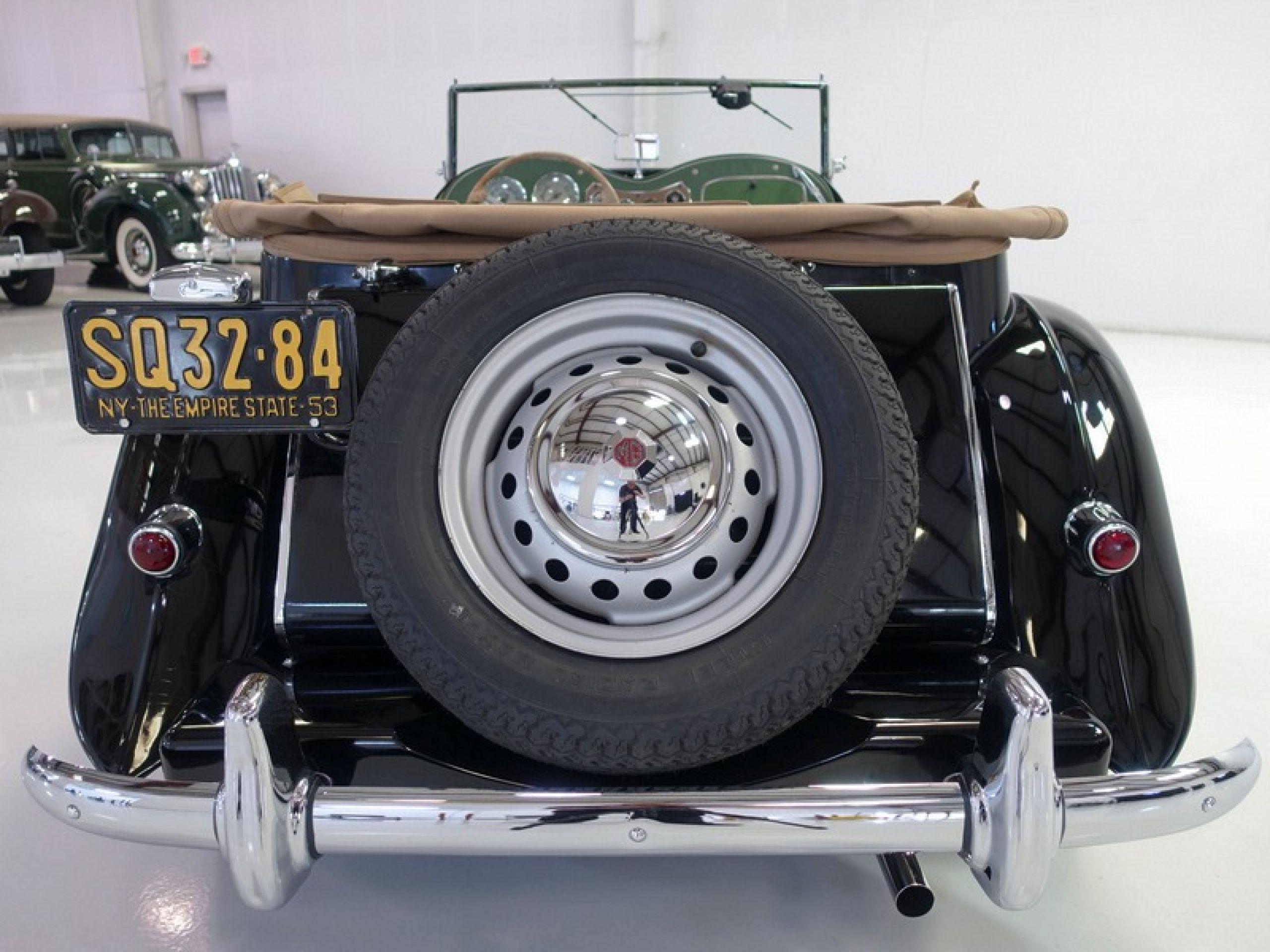 1953 MG TD Roadster