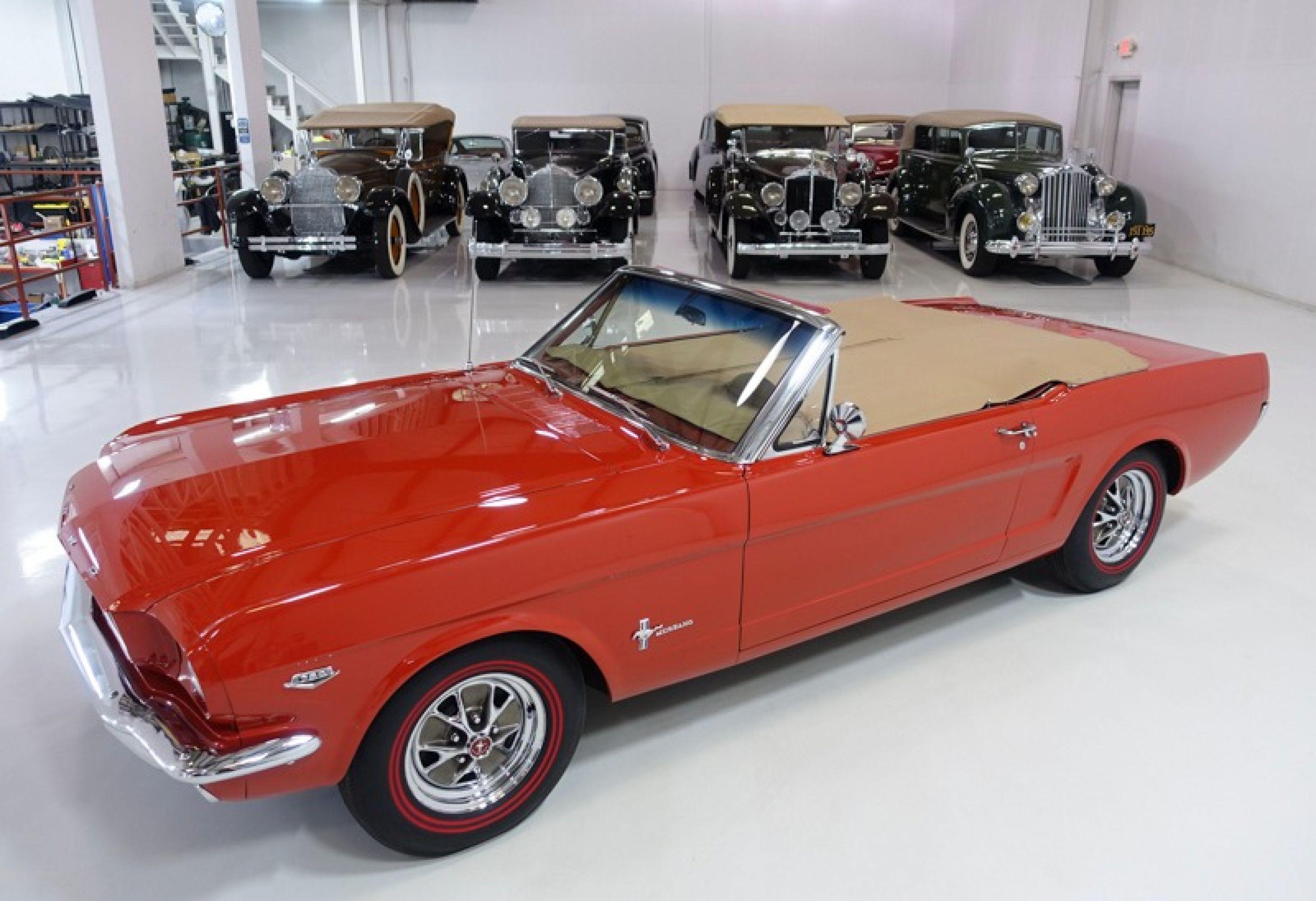 1965 Ford Mustang K-code Convertible