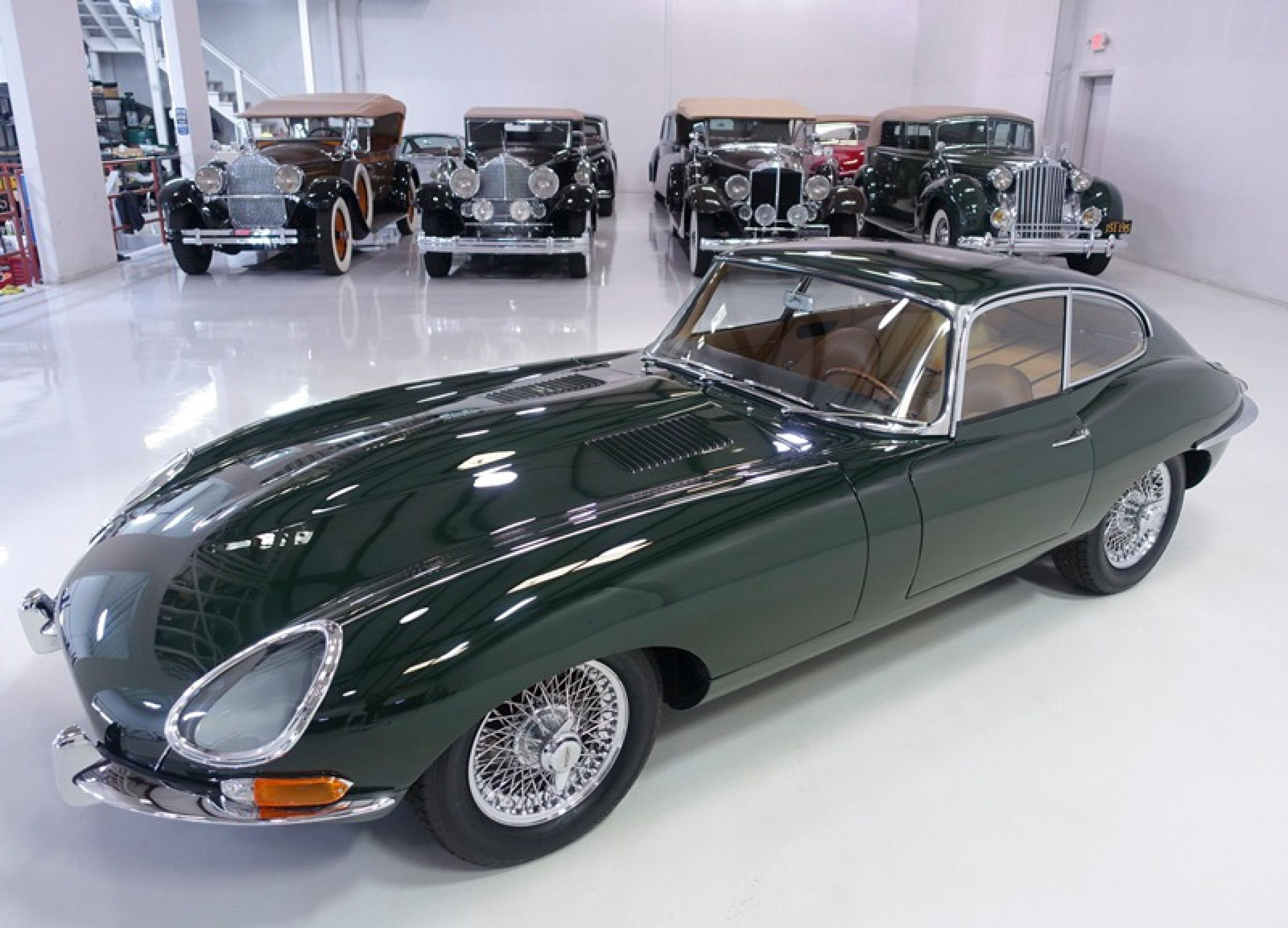 "1961 Jaguar E-Type Series 1 ""Flat Floor"" Fixed Head Coupe"