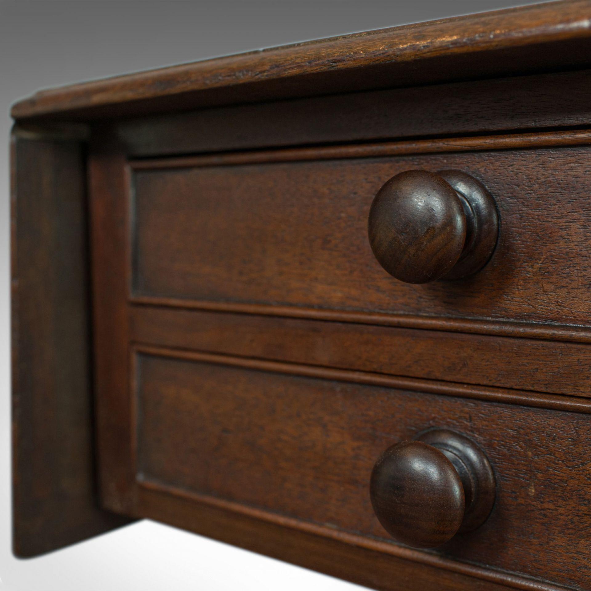 Antique Pembroke Work Table, English, Victorian, Flame Mahogany, Drop Flap c1840