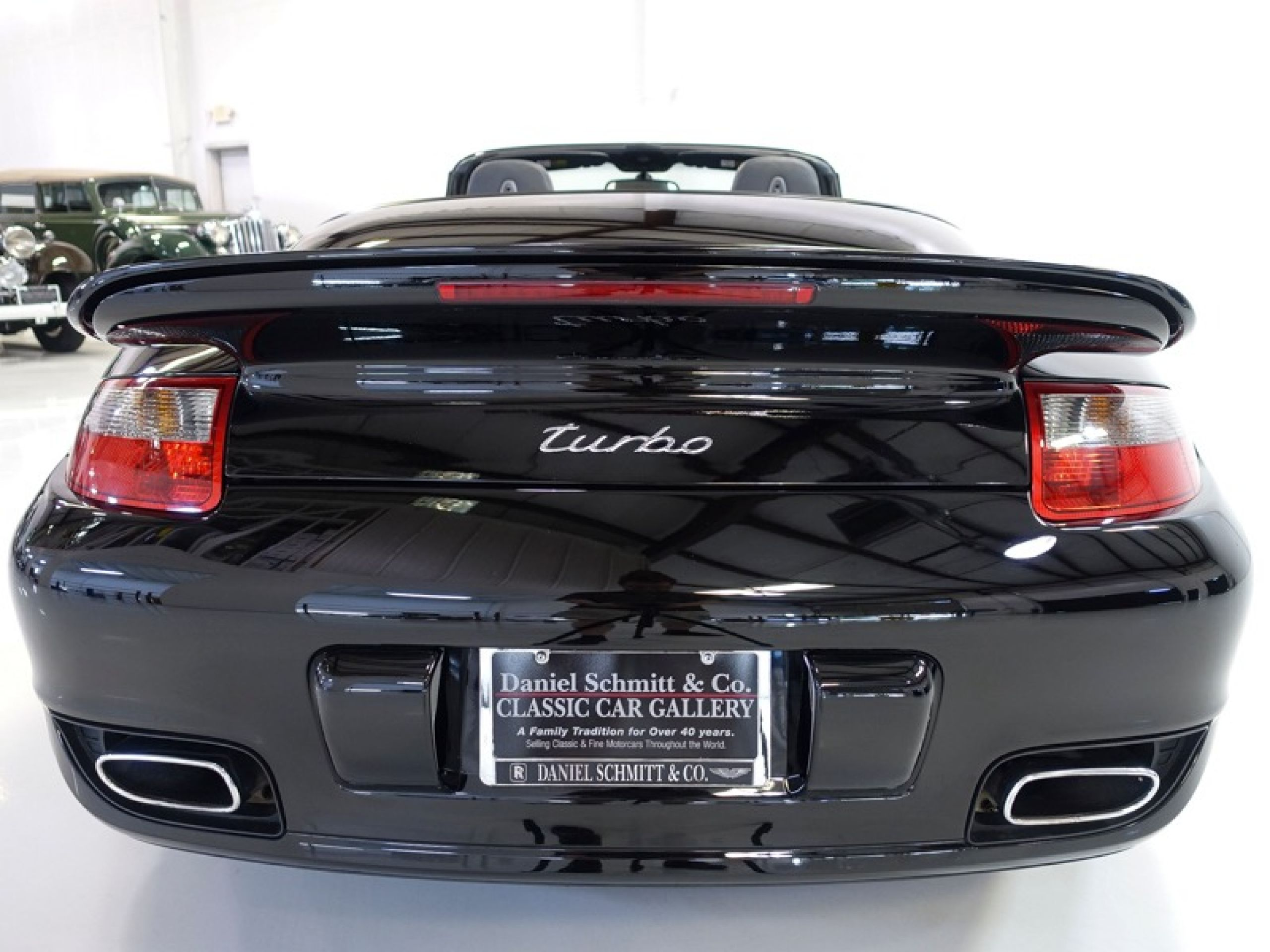 2008 Porsche 911 997 Turbo Cabriolet