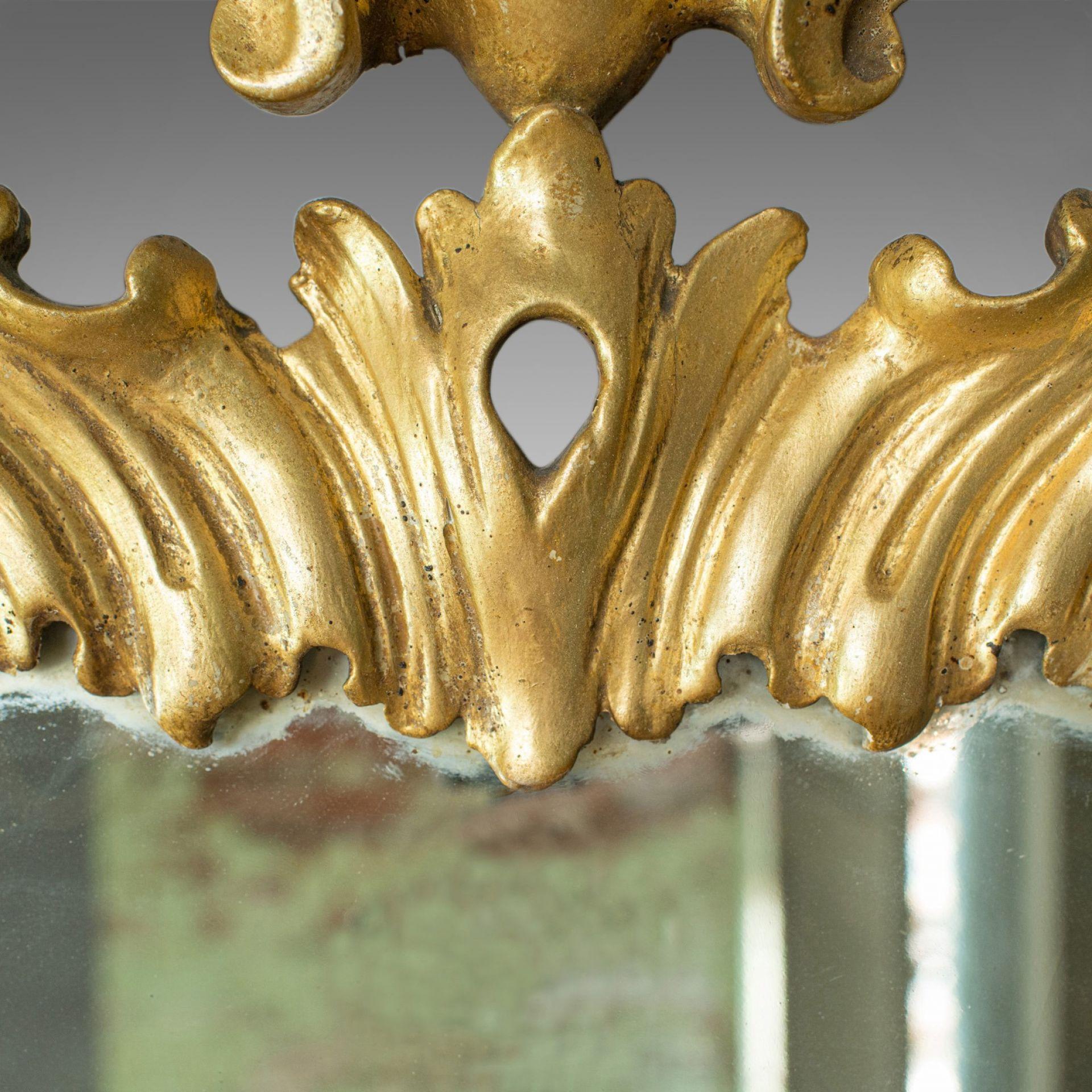 Antique Wall Mirror, English, Victorian, Gilt Gesso, Classical Taste, Circa 1890