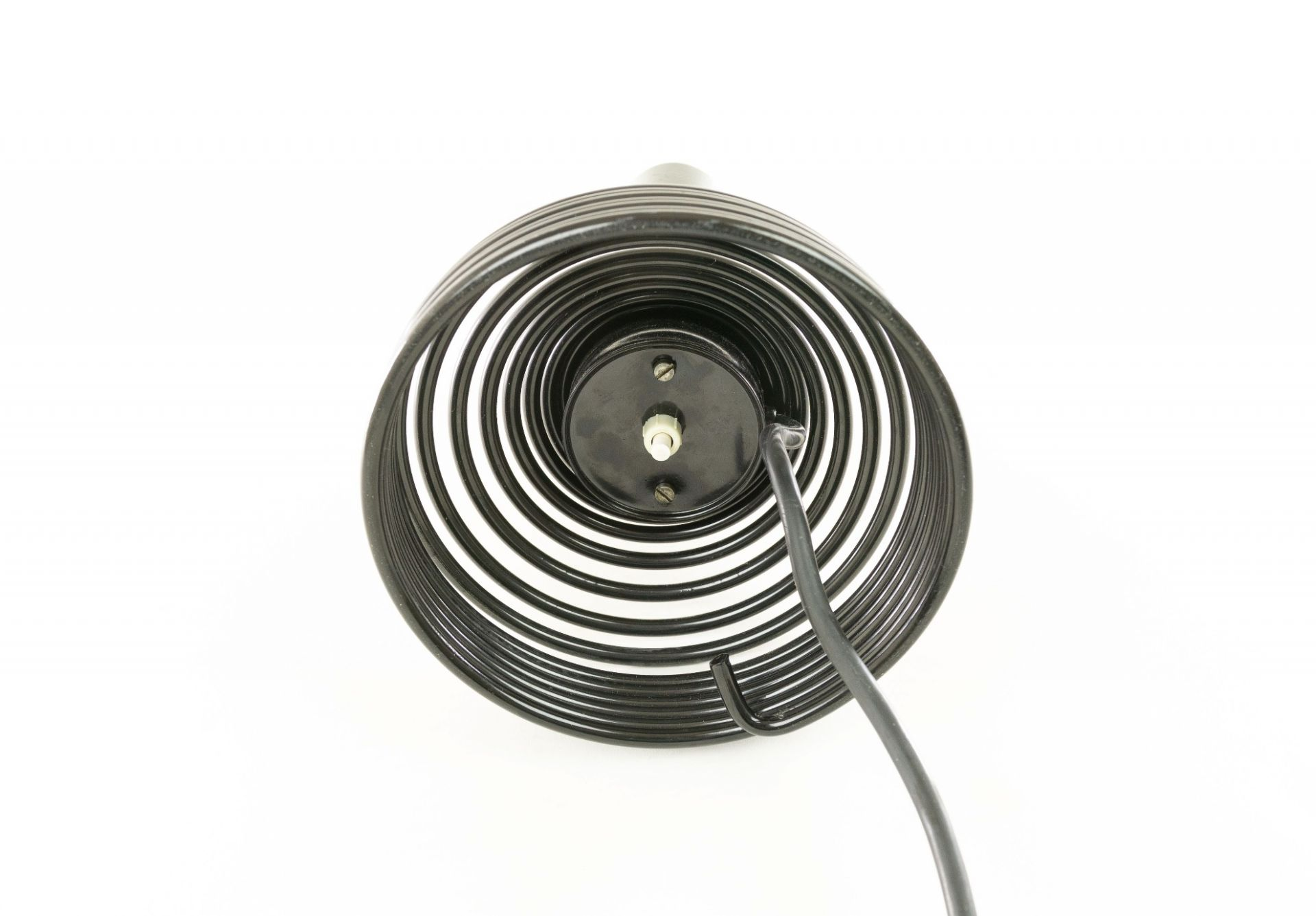 Spirale table lamp by Angelo Mangiarotti for Candle, 1970s