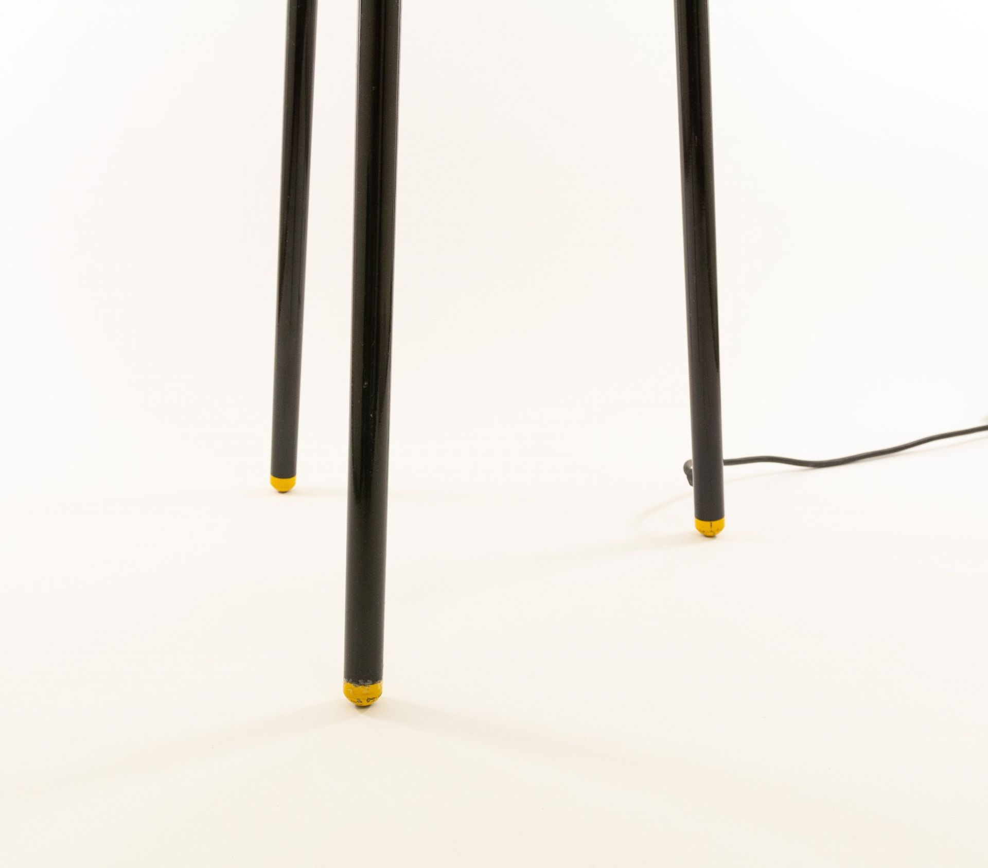 Black Palomar Floor Lamp by Shigeaki Asahara for Stilnovo, 1970s