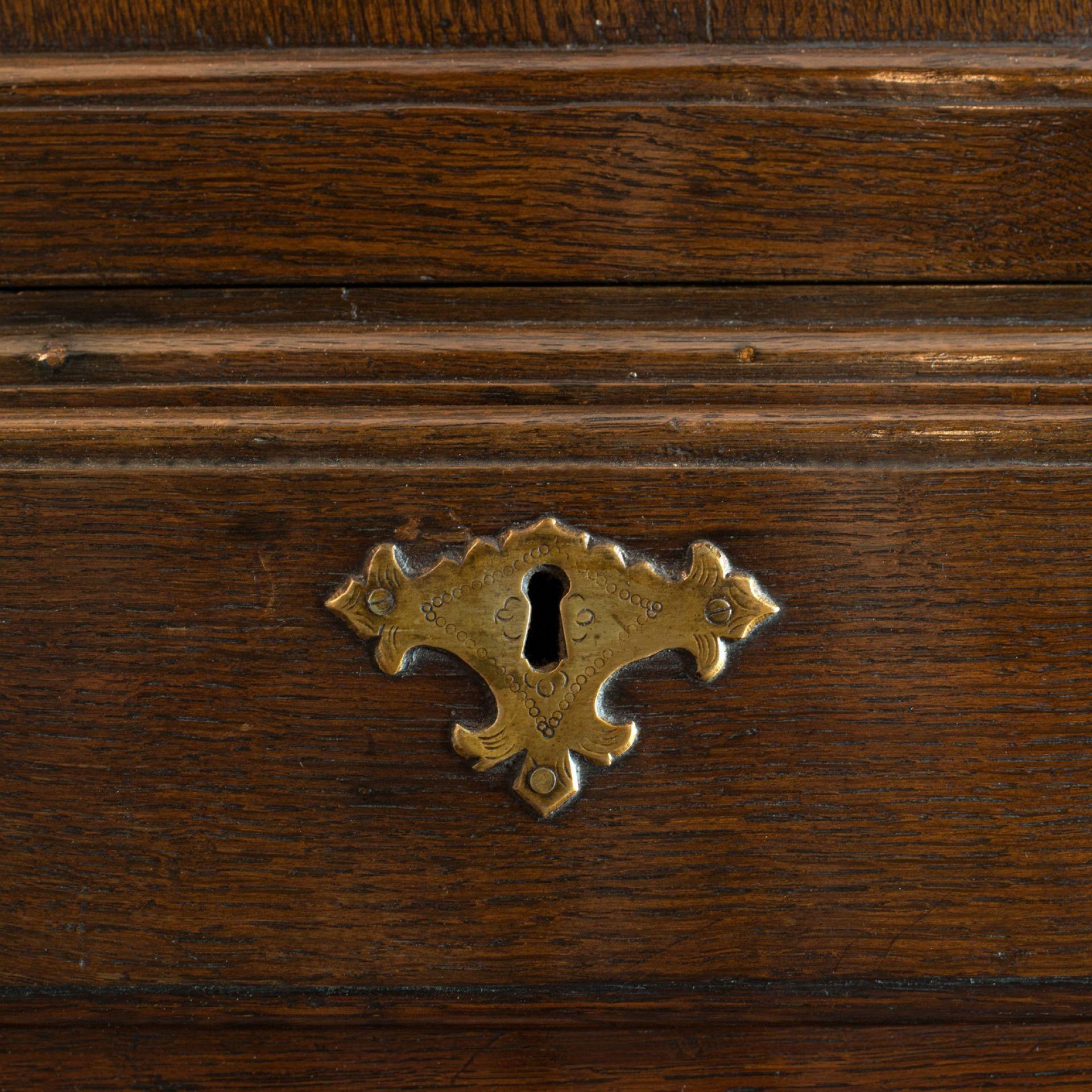 Antique Corner Cabinet, English, Georgian, Oak, Hanging, Cupboard, Circa 1780