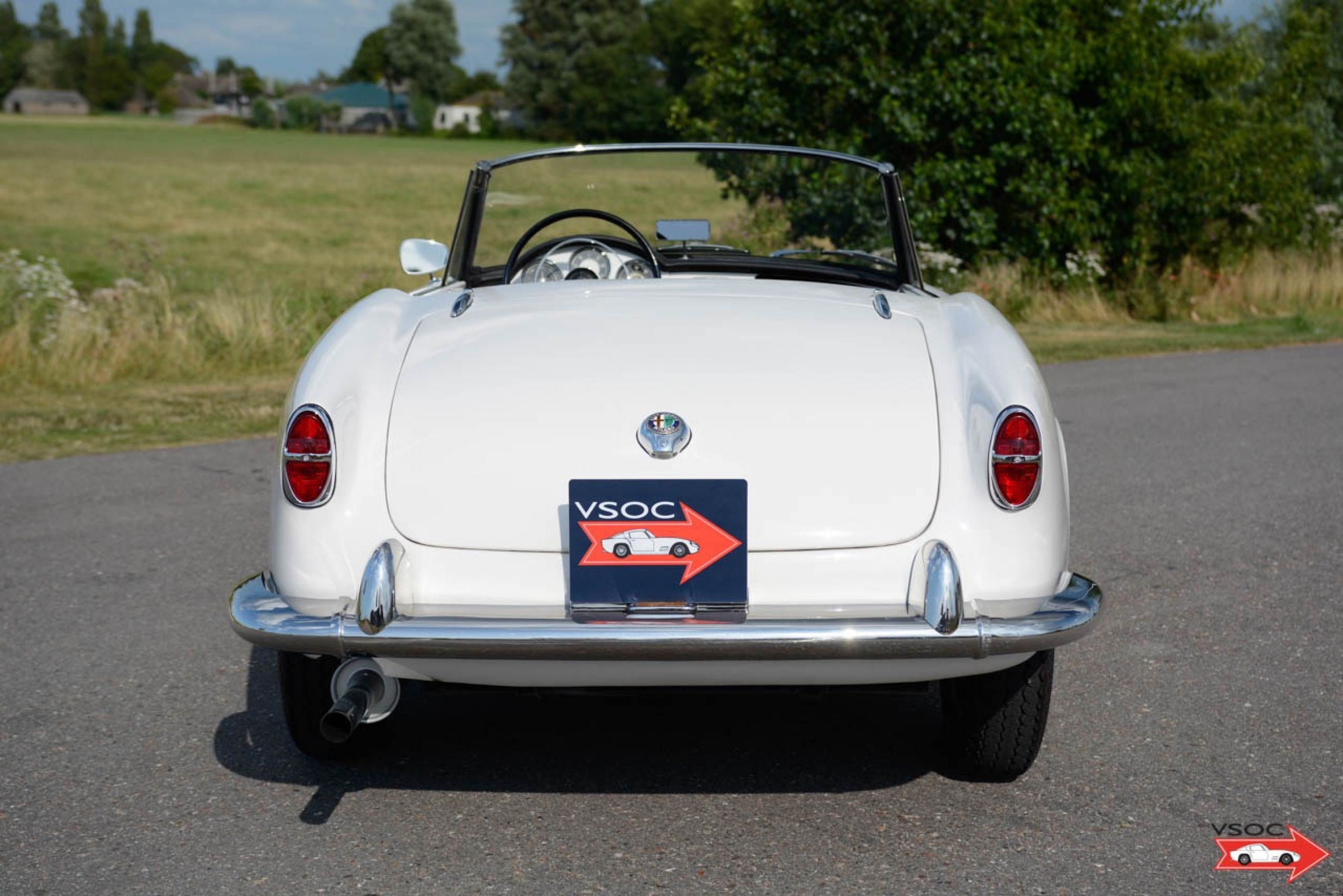 Alfa Romeo Giulietta Spider - matching numbers, engine recently rebuilt