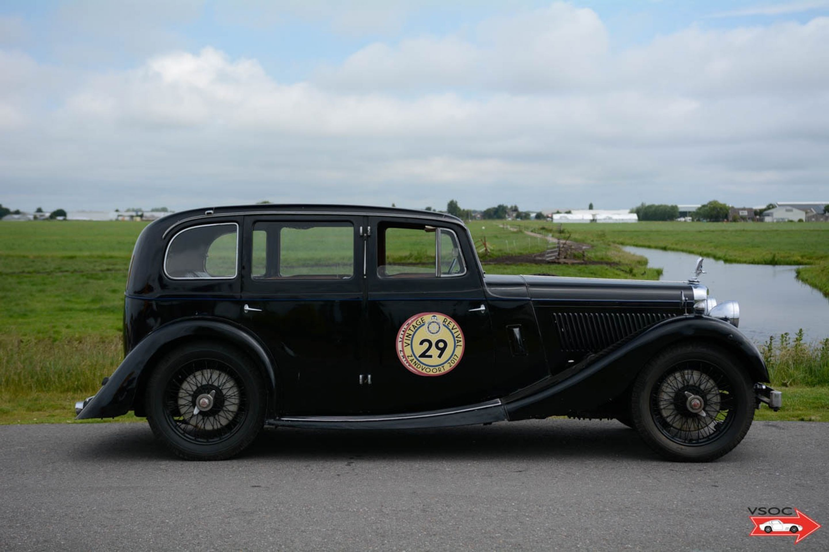 Alvis Six Light Royal Saloon by Cross and Ellis - Very rare and original car