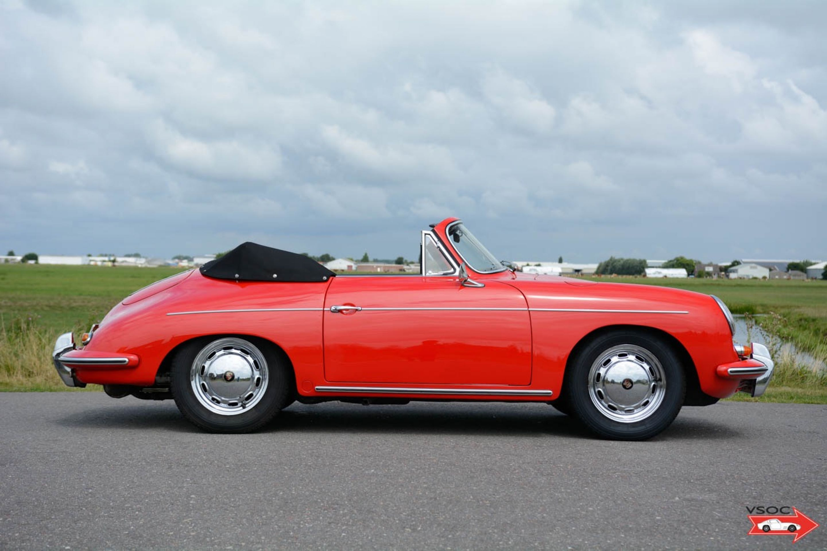 Porsche 356 B T6 1600 S cabriolet 1962 - runs and drives well