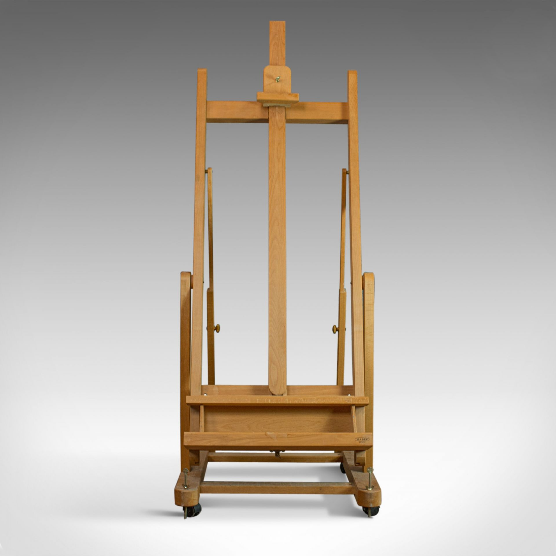 Studio Picture Easel, Adjustable Stand, Beech, Mabef, Italy