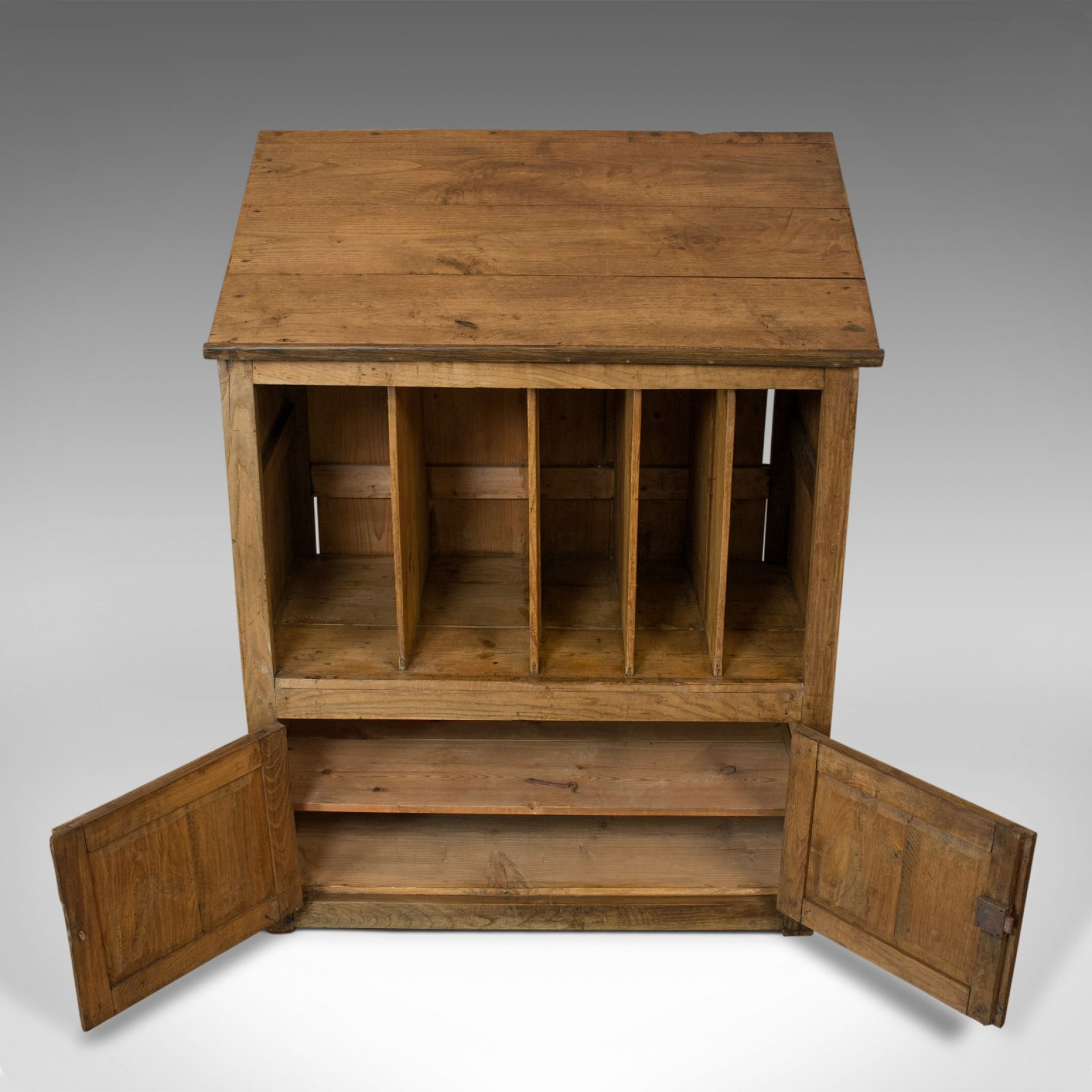 Antique Clerks Standing Desk, Victorian, Pine, Writing Table, Lectern c1890