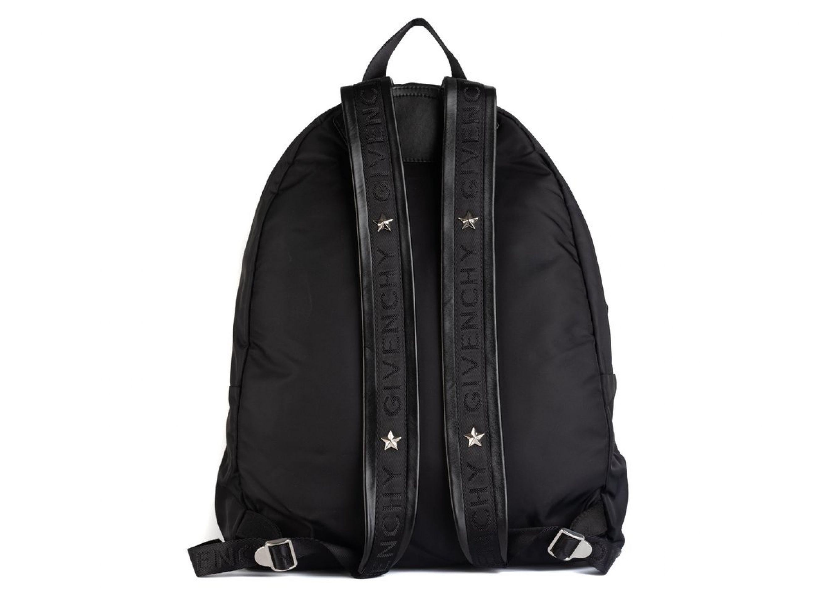 GIVENCHY MEN'SB SKULL PRINTED STAR BACKPACK IN NYLON