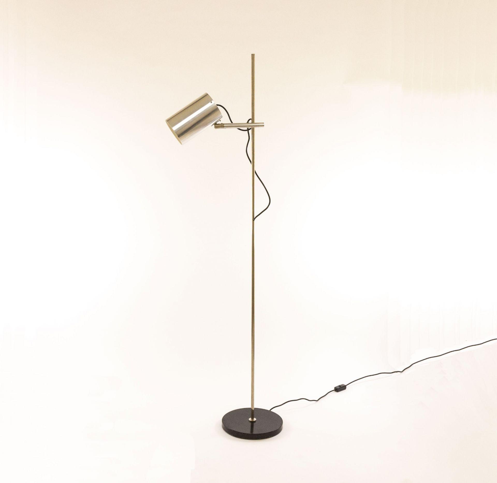 Floor lamp with one spot by Indoor lighting design (attr.), 1970s