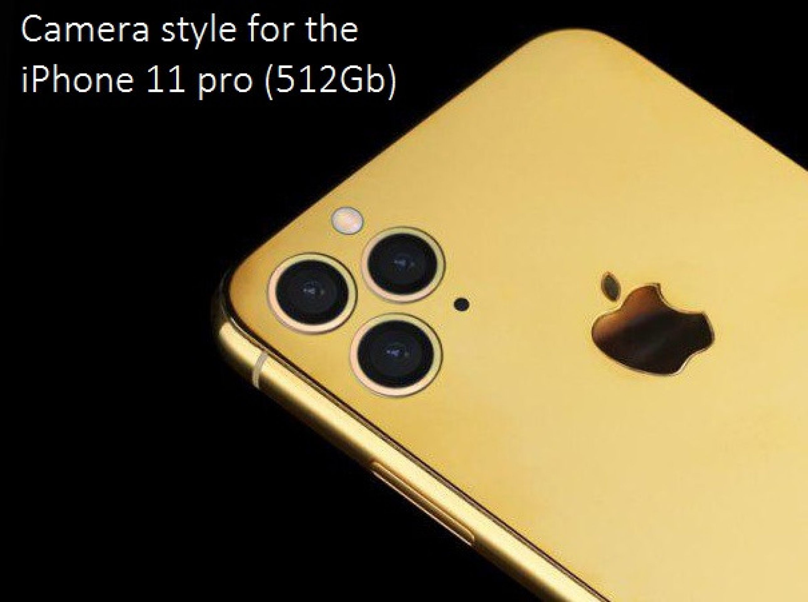 Bespoke iPhone 11 Pro 512Gb LU by Legend Dragon in 24k gold, platinum, diamonds