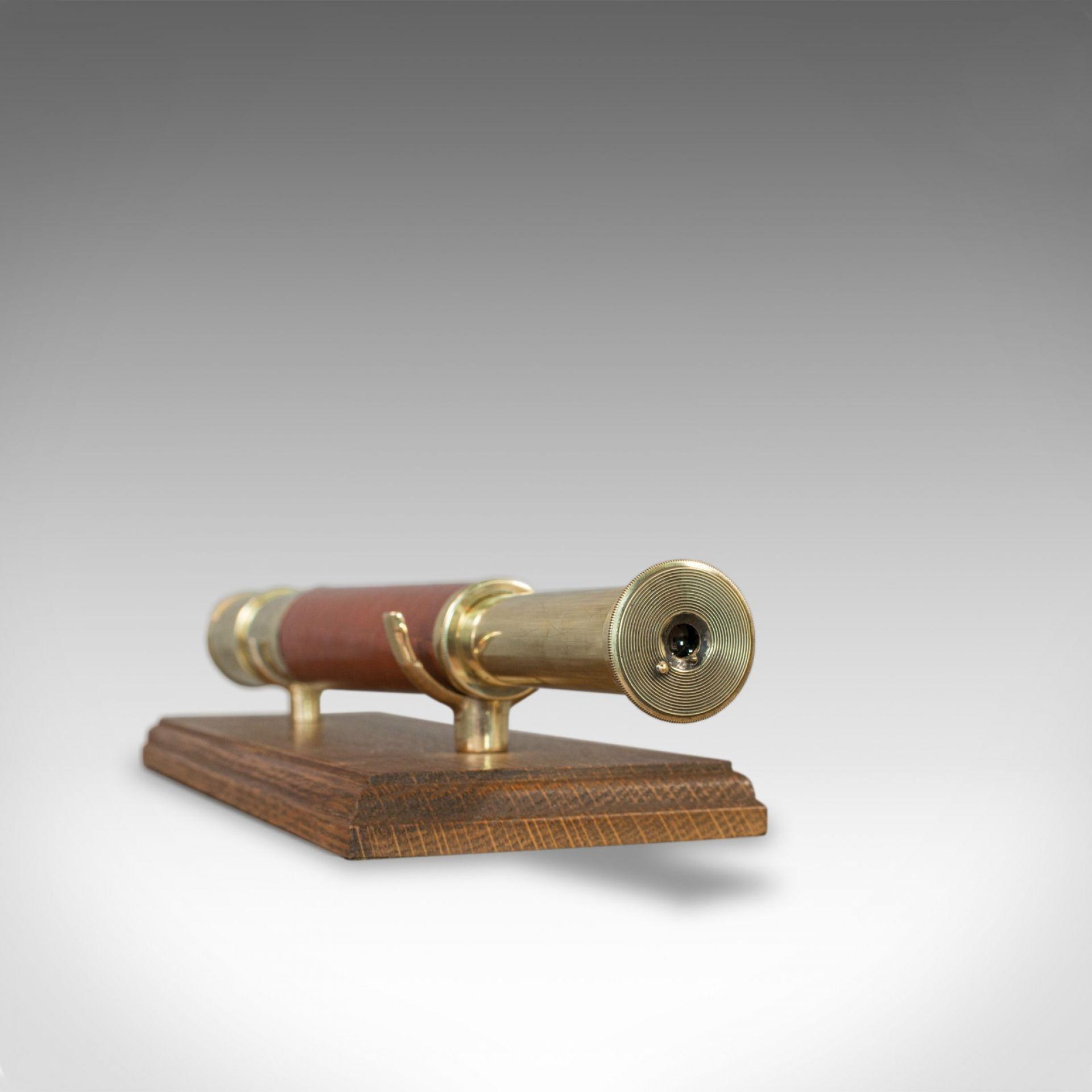 Antique Telescope, English, Single Draw, Terrestrial, Astronomical, Circa 1790
