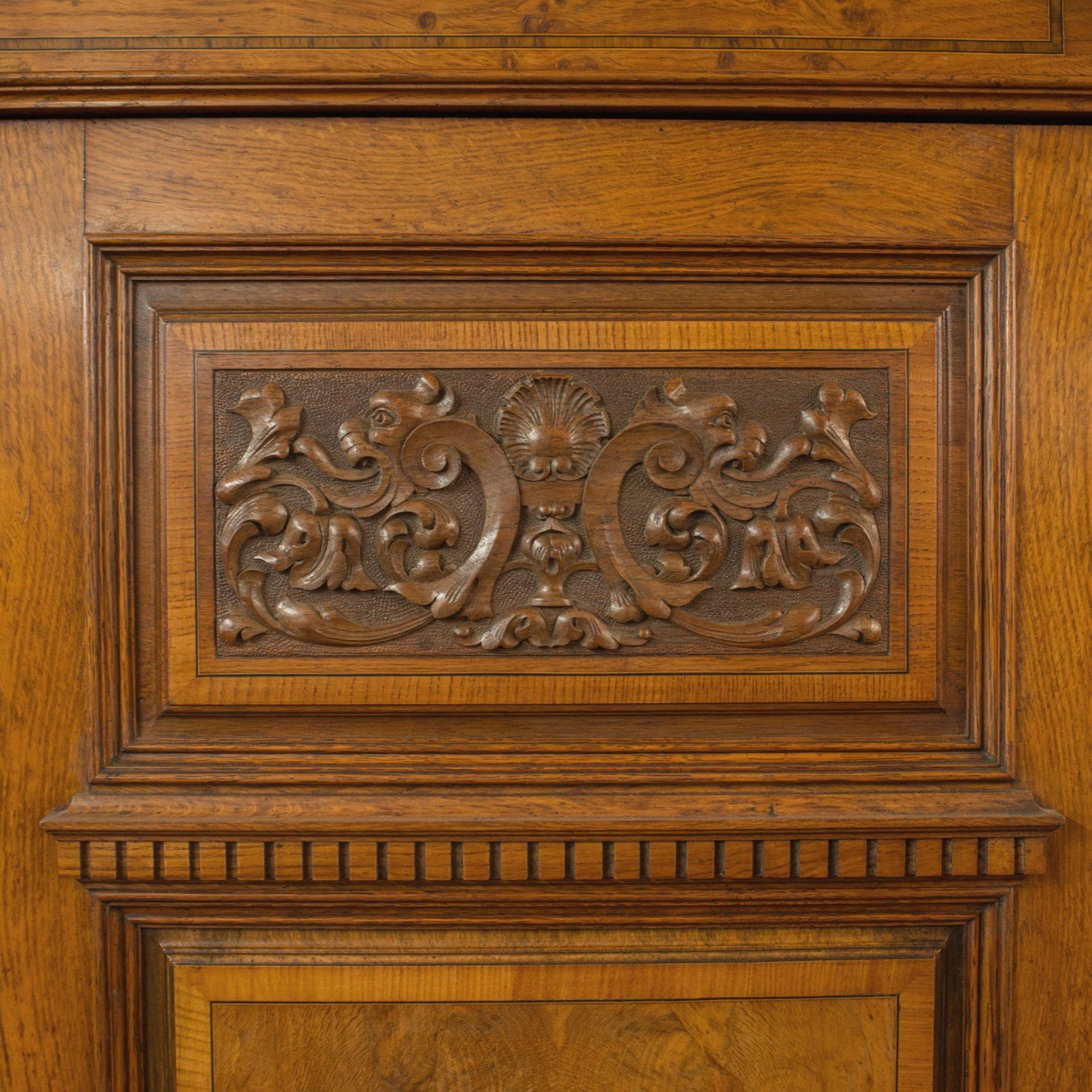 Antique Triple Wardrobe, Scottish, Oak, Compactum, Victorian, Circa 1870