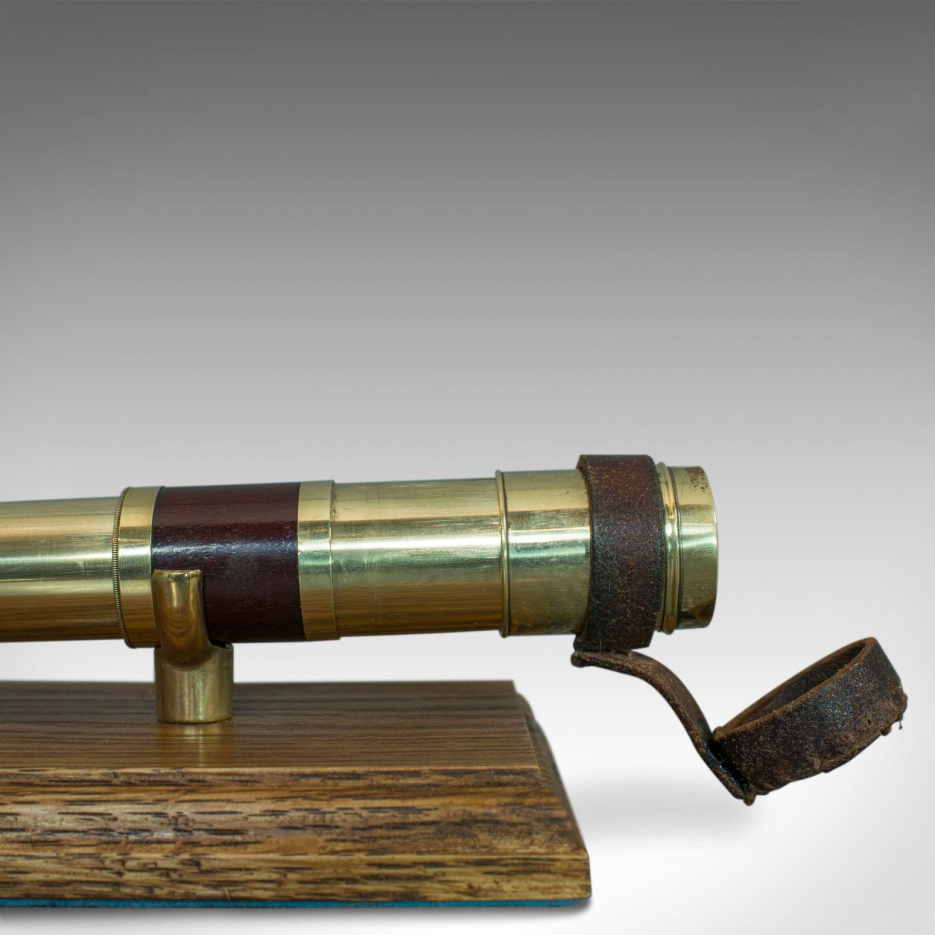 Antique Pocket Telescope, 6 Draw, English, Compact, Negretti and Zambra, C.1860
