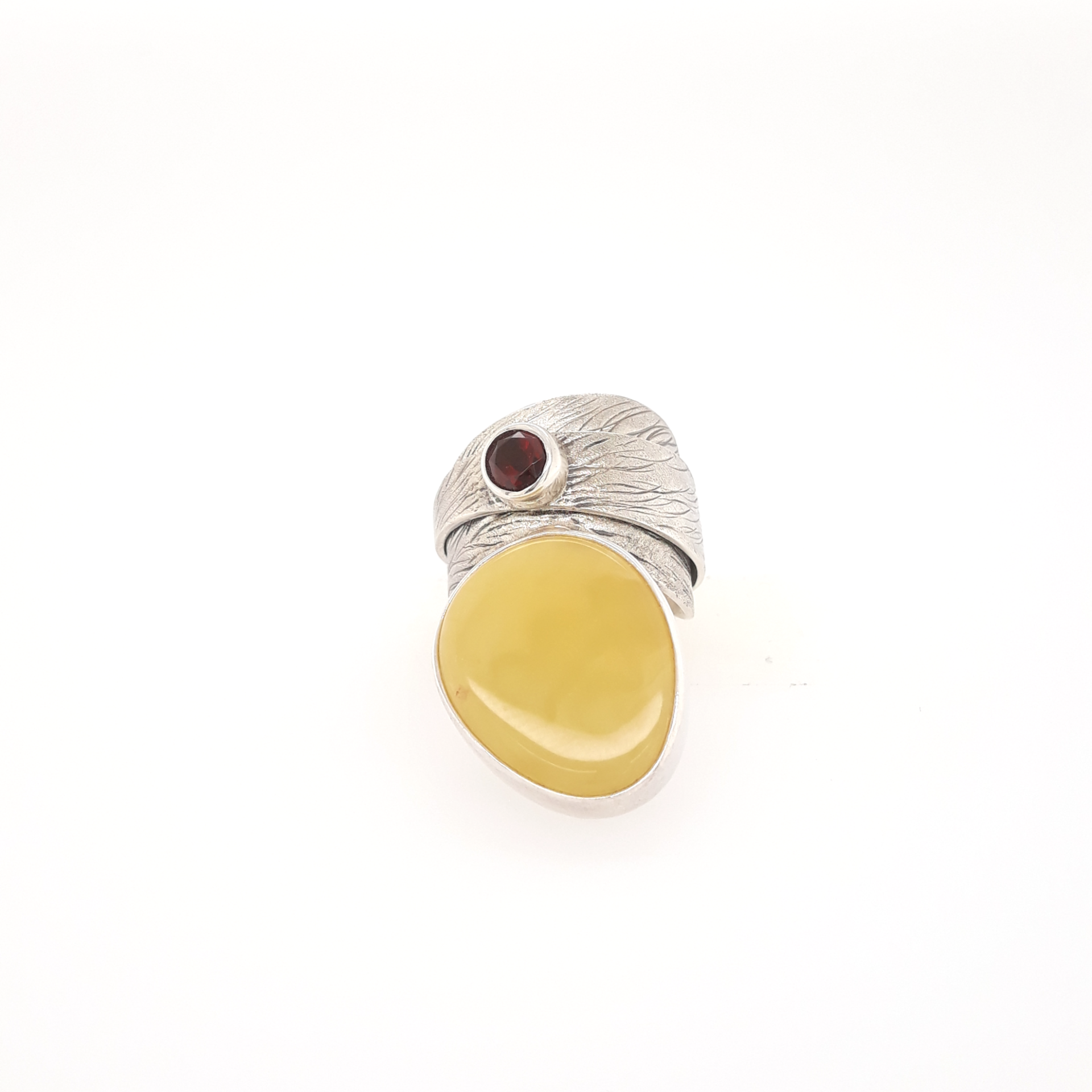 Natural Baltic Amber Ring