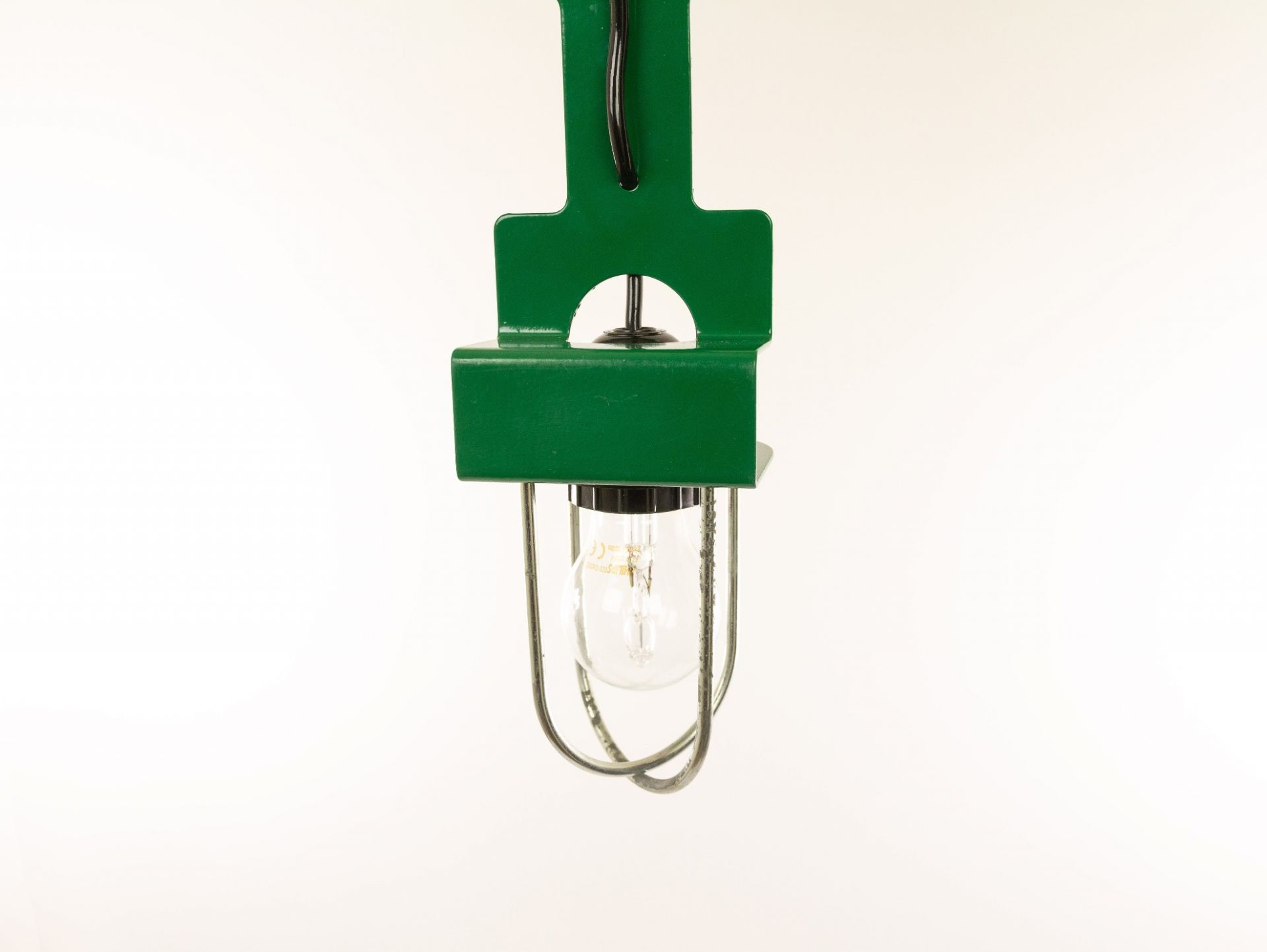 Green pendant or table lamp by Reggiani, 1970s