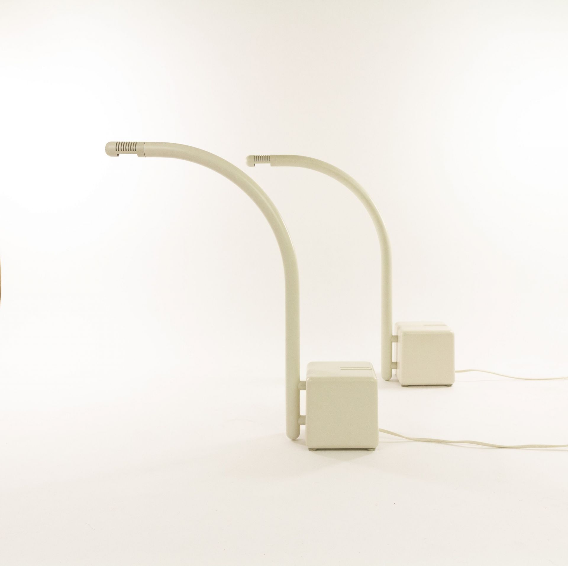 A pair of table lamps by Claus Bonderup & Torsten Thorup for Focus Denmark, 1970