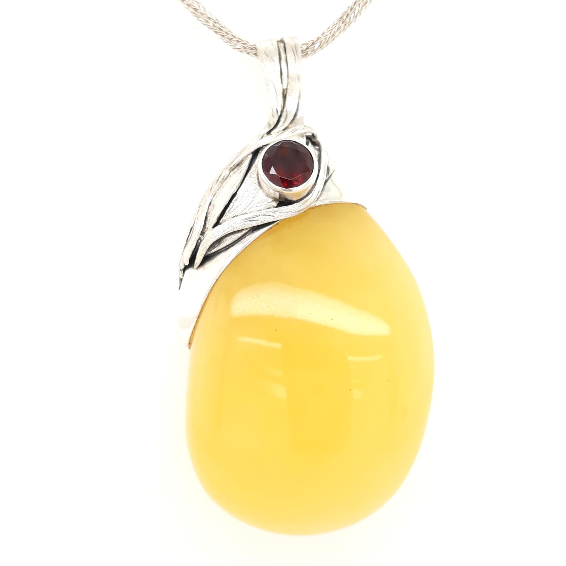 Natural Baltic Amber Pendant