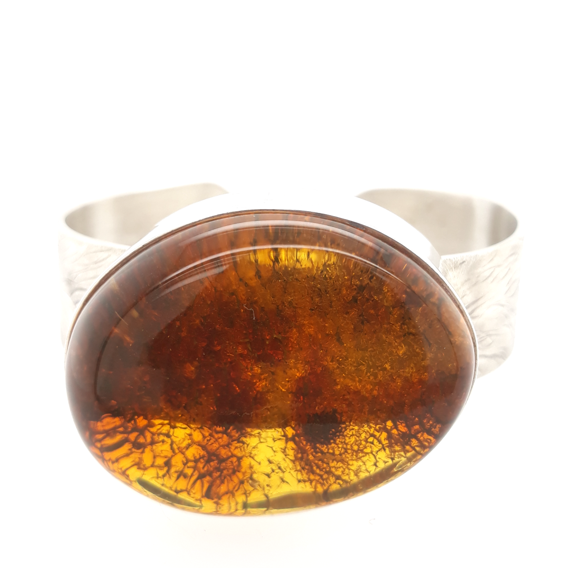 Natural Baltic Amber Bangle