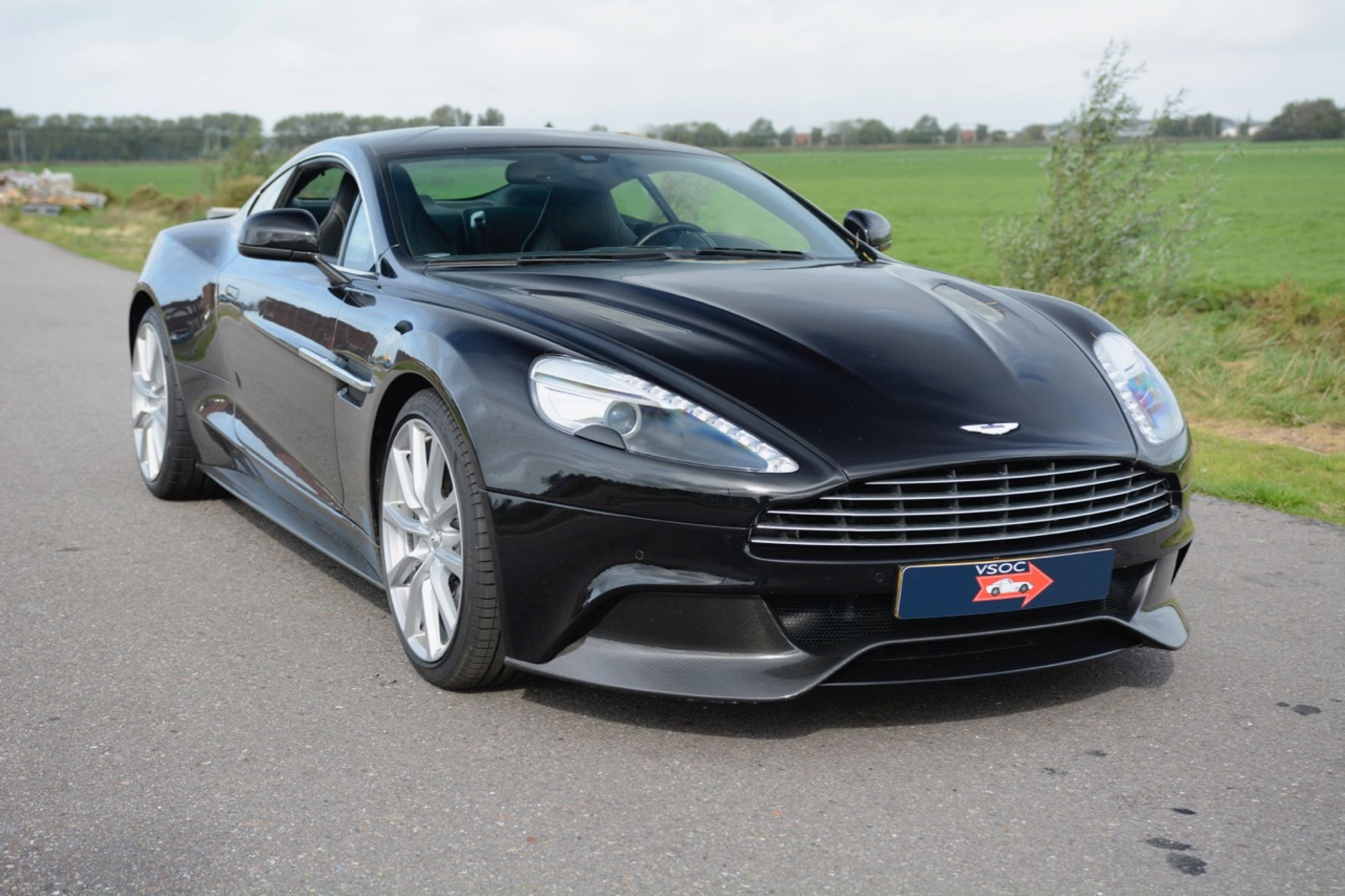 Magnificent Aston Martin Vanquish from 2013​