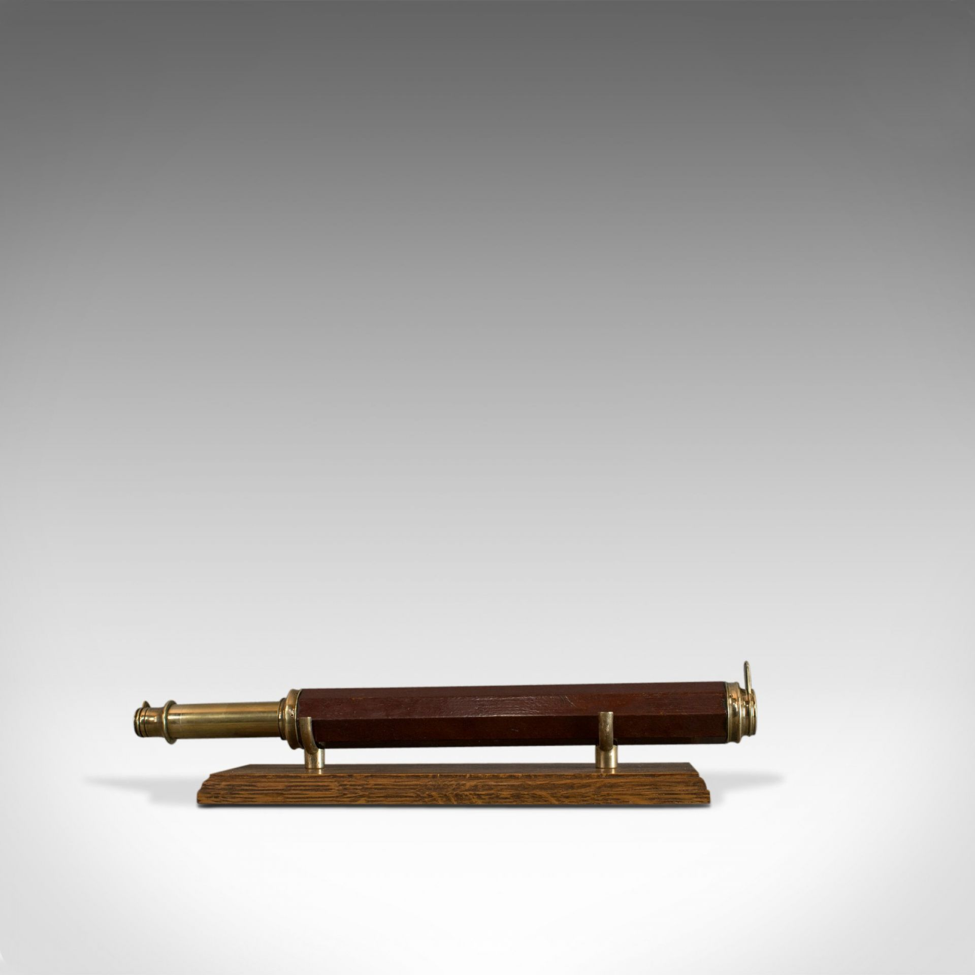 Antique Telescope, English, Single Draw, Refractor, Terrestrial, Circa 1760