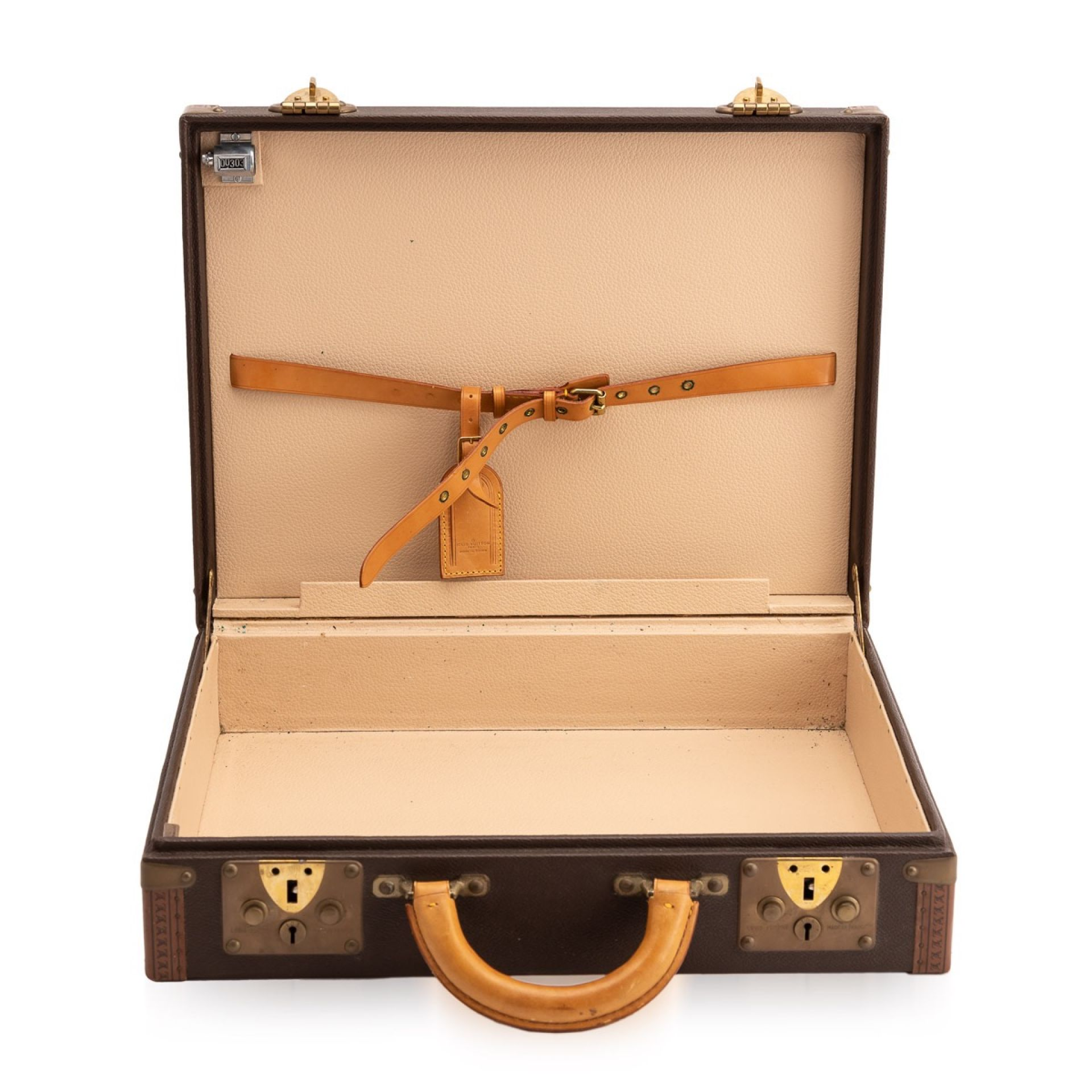 "A VERY RARE LOUIS VUITTON ""SECRET SERVICE"" BRIEFCASE, PARIS c.1980"