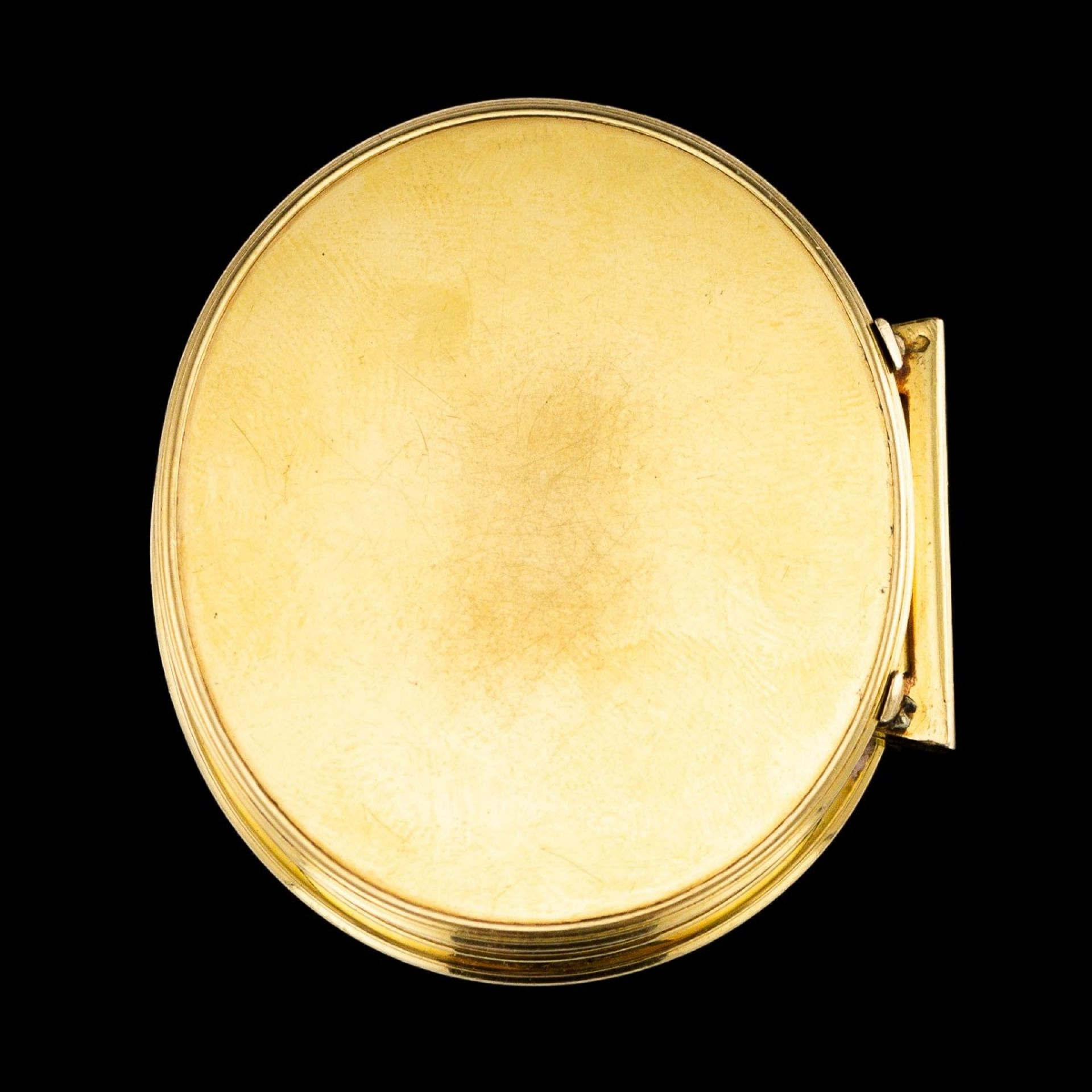 ANTIQUE 18thC RARE DUTCH 18k GOLD SNUFF BOX, AMSTERDAM c.1739
