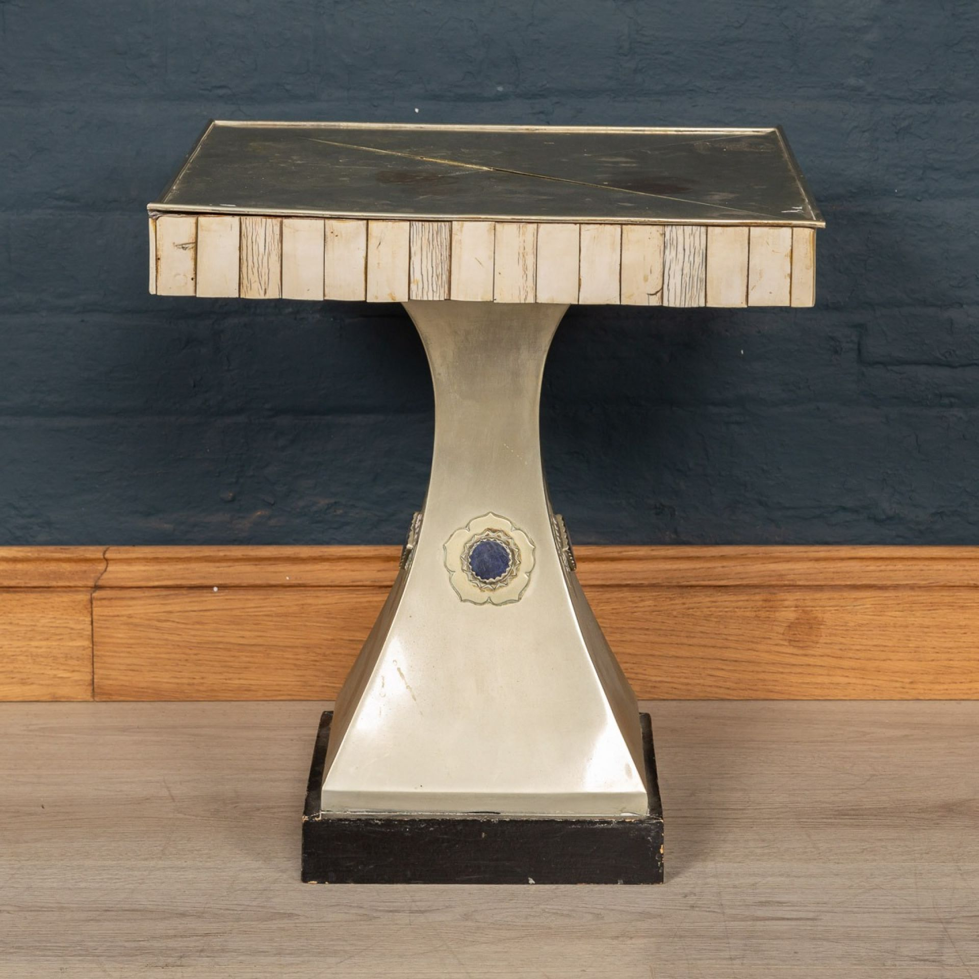 UNUSUAL SIDE TABLE BY ANTHONY REDMILE, LONDON c.1970
