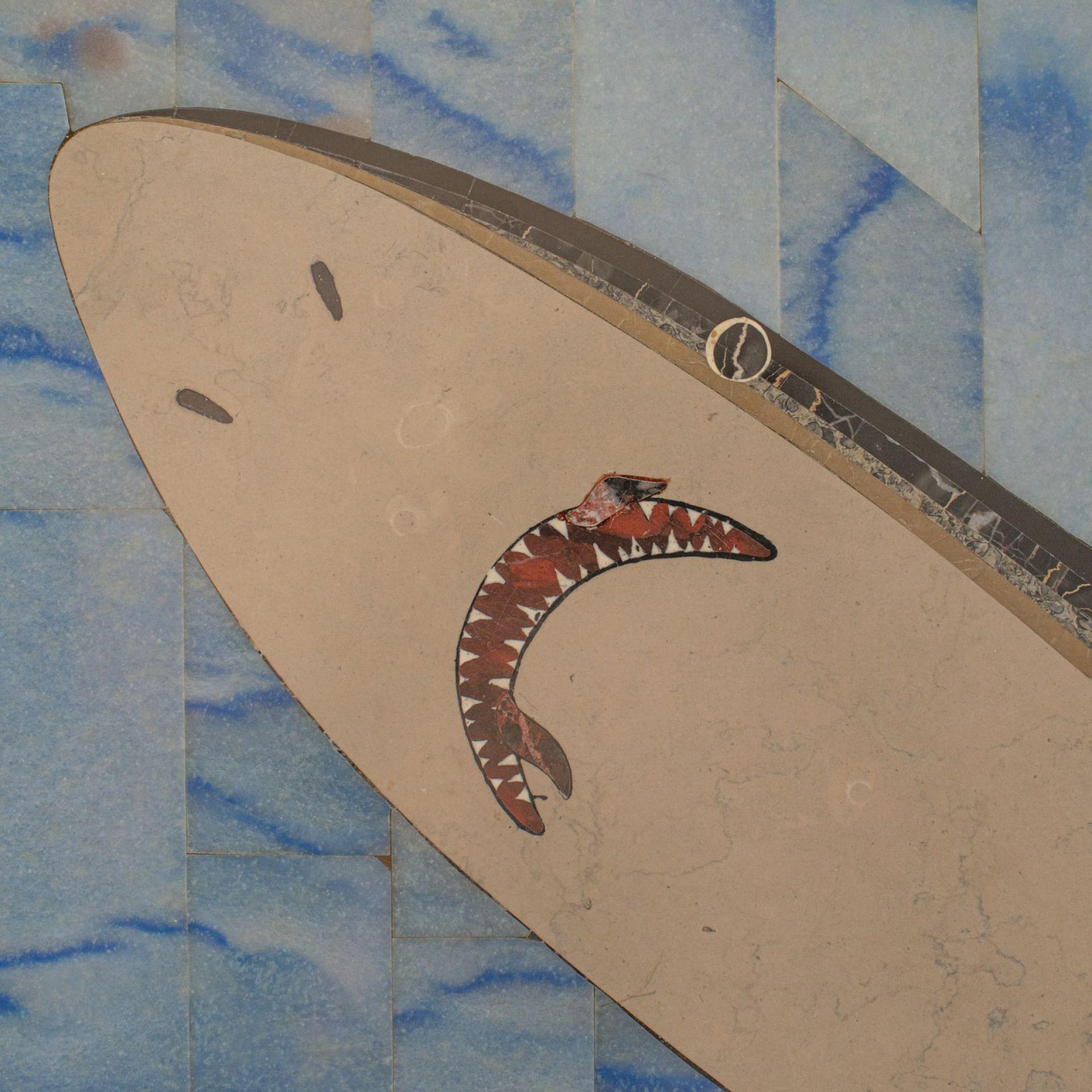 Scheiders Nightmare, Table, Shark, Singer, English, Pietra Dura, Dominic Hurley