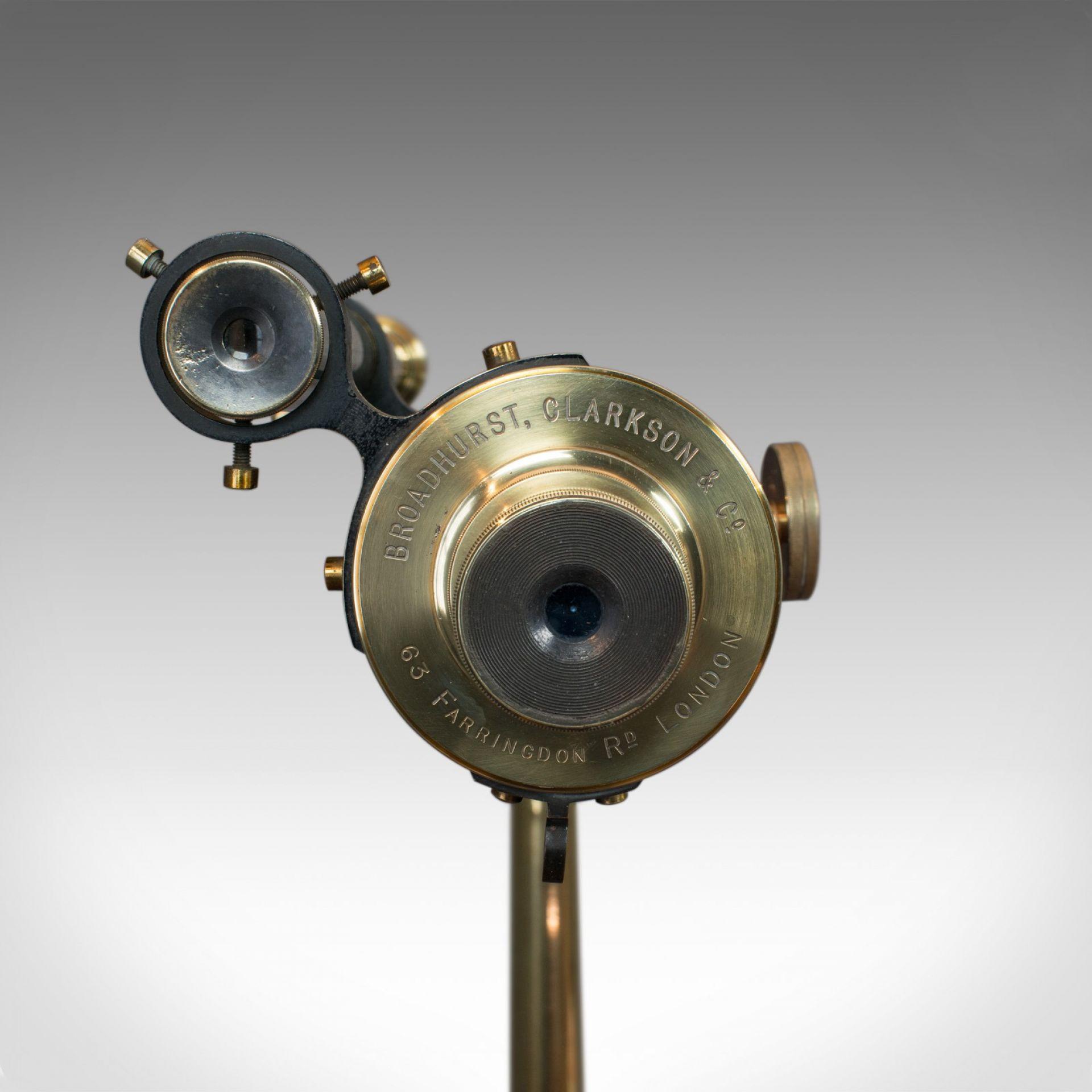 Vintage Telescope, Tripod, Broadhurst Clarkson, London, Starboy, Astronomical