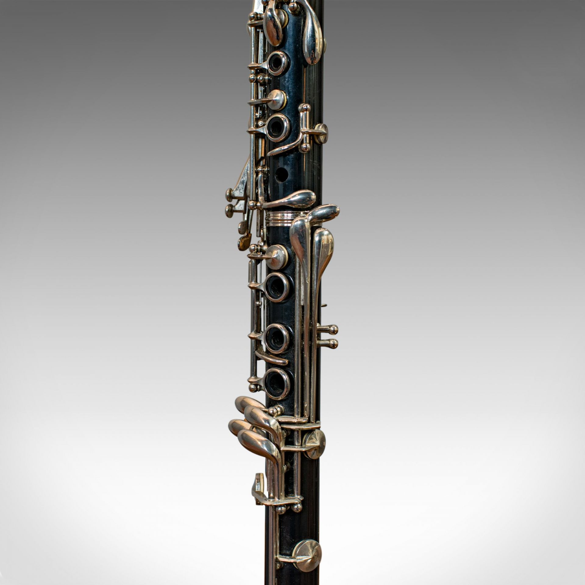 Vintage Clarinet Lamp, Bespoke, Handmade, Table, Light, Crafted, Instrument
