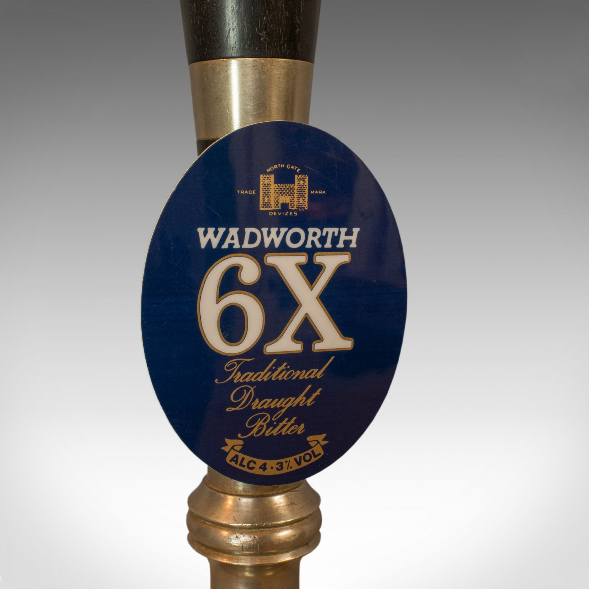 Vintage Beer Pump Lamp. English, Bespoke, Handcrafted, Public House, Table Light