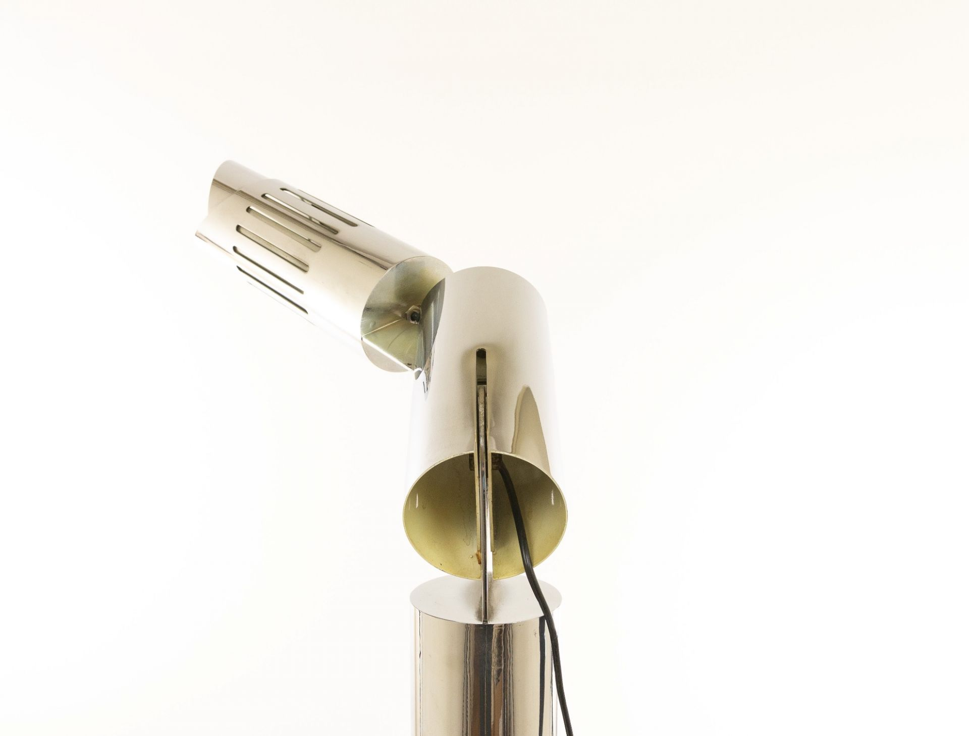Chrome Floor Lamp, Model Cobra, by Gabriele D'Ali for Francesconi, 1970s