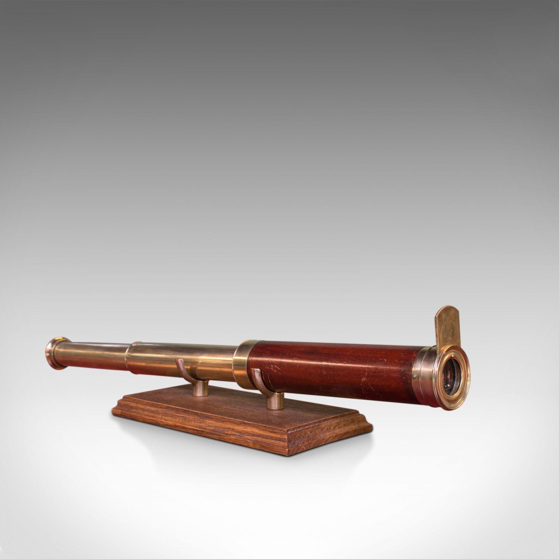 Antique Telescope, 2 Draw Refractor, English, Georgian, 18th Century, Circa 1800
