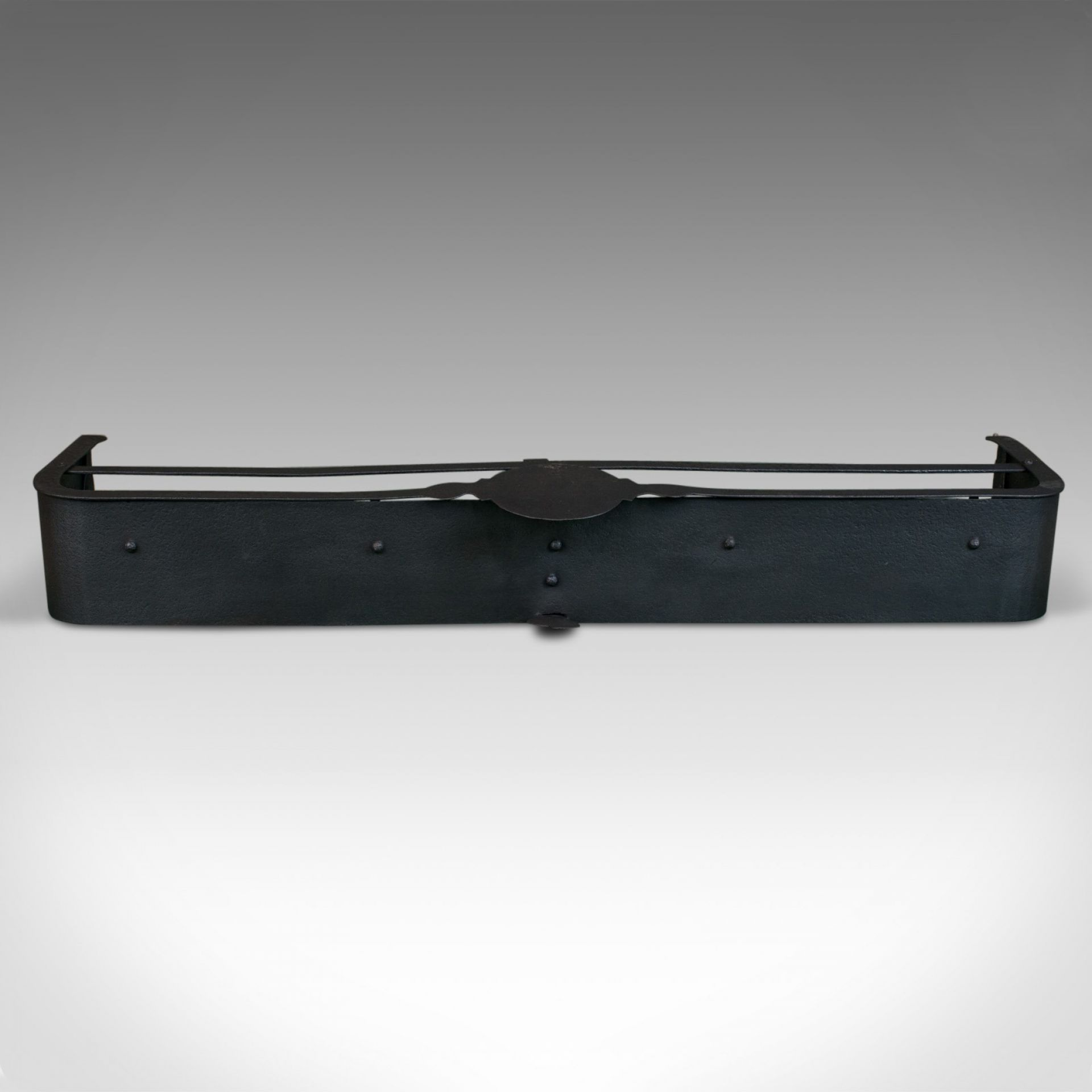 Antique Fire Surround, English, Victorian, Fender, Iron, Circa 1890