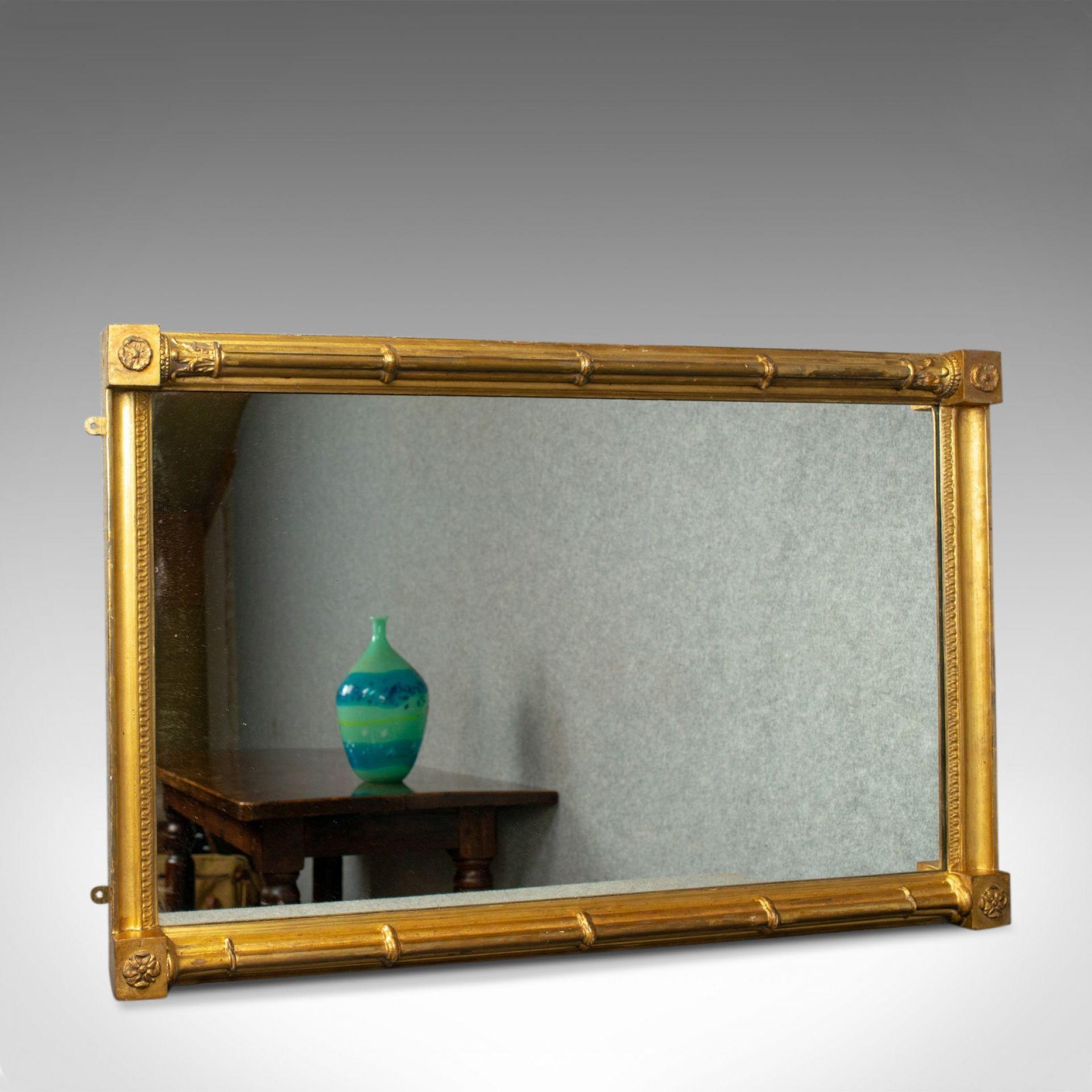 Antique Wall Mirror, English, Georgian, Giltwood, Console, Circa 1800